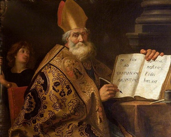 """Gerard Seghers (1591-1651) -""""The Four Doctors of the Western Church, Saint Ambrose"""" ( Wikimedia Commons )"""