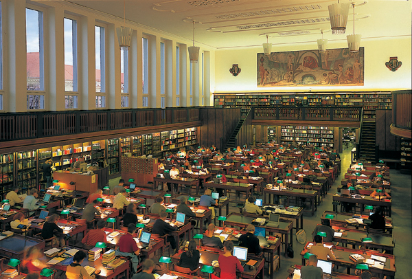 The German National Library, courtesy of theeuropeanlibrary.org