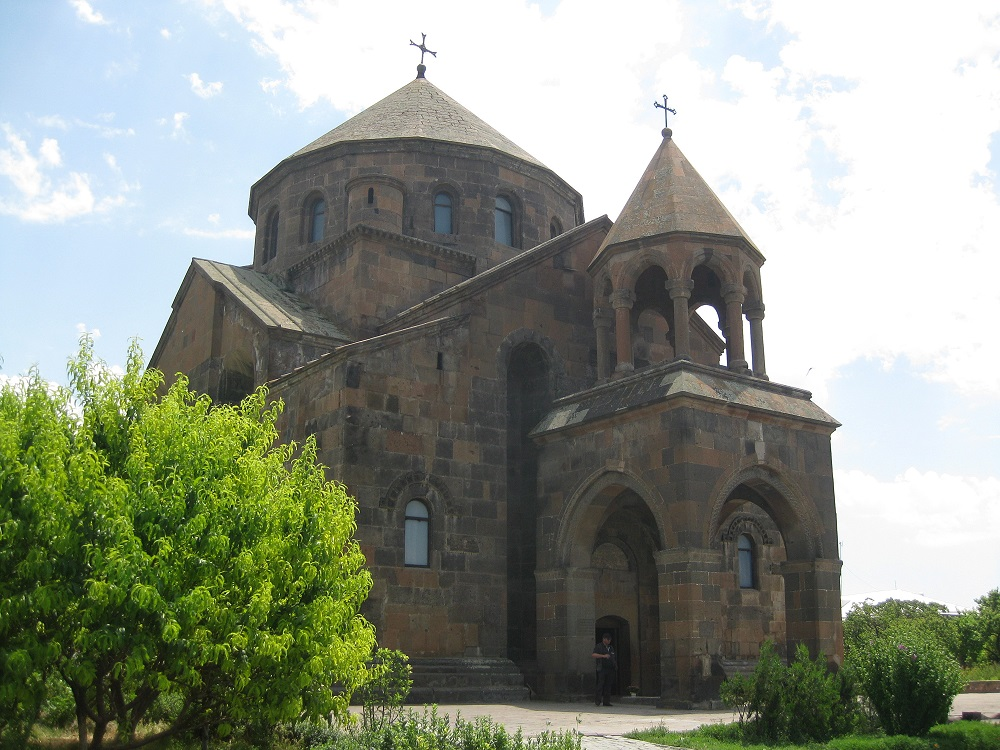 Seventh-century Church of St. Hripsime | Etchmiadzin, Armenia |  Image Source