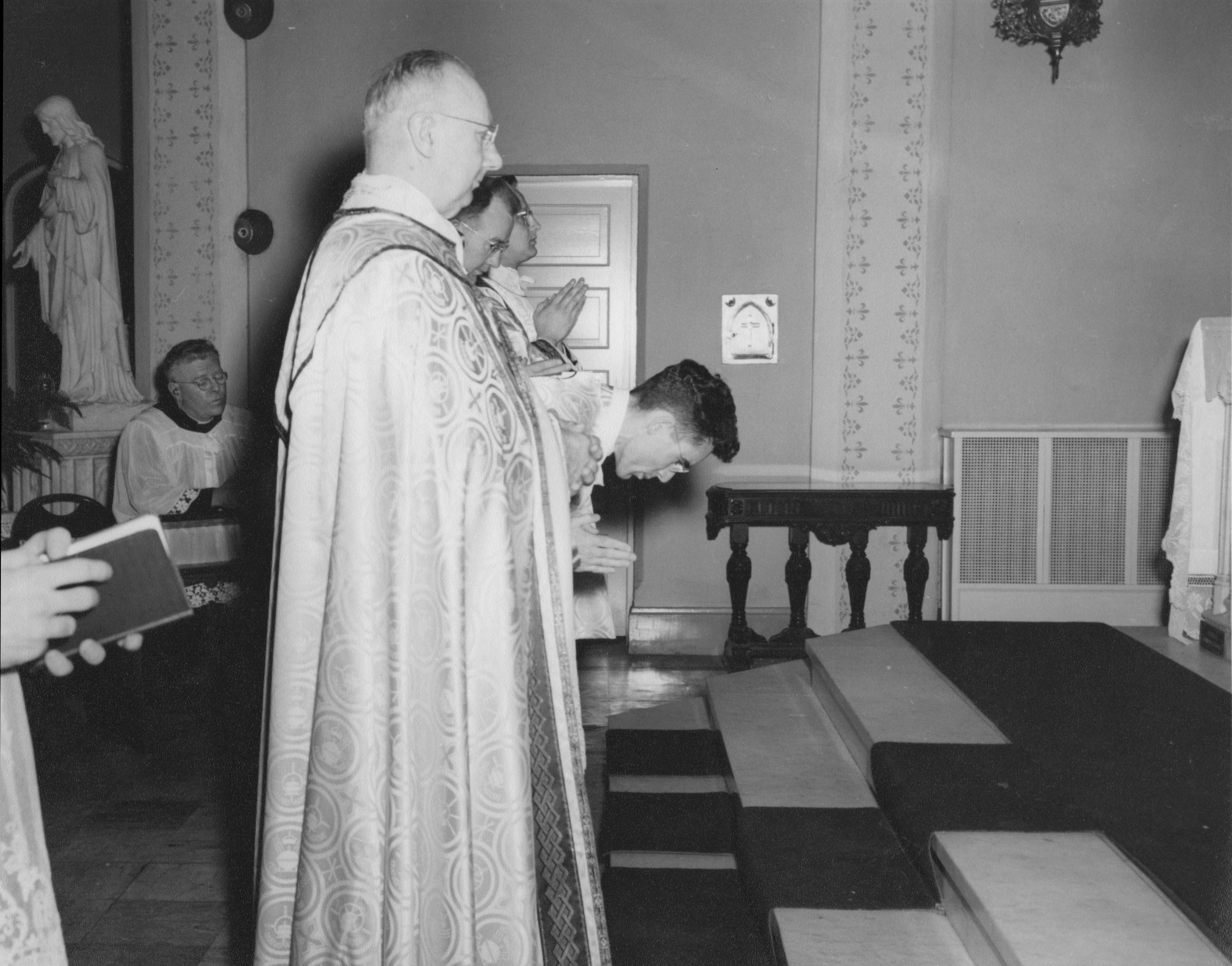 Fr. Bertrand's First Mass