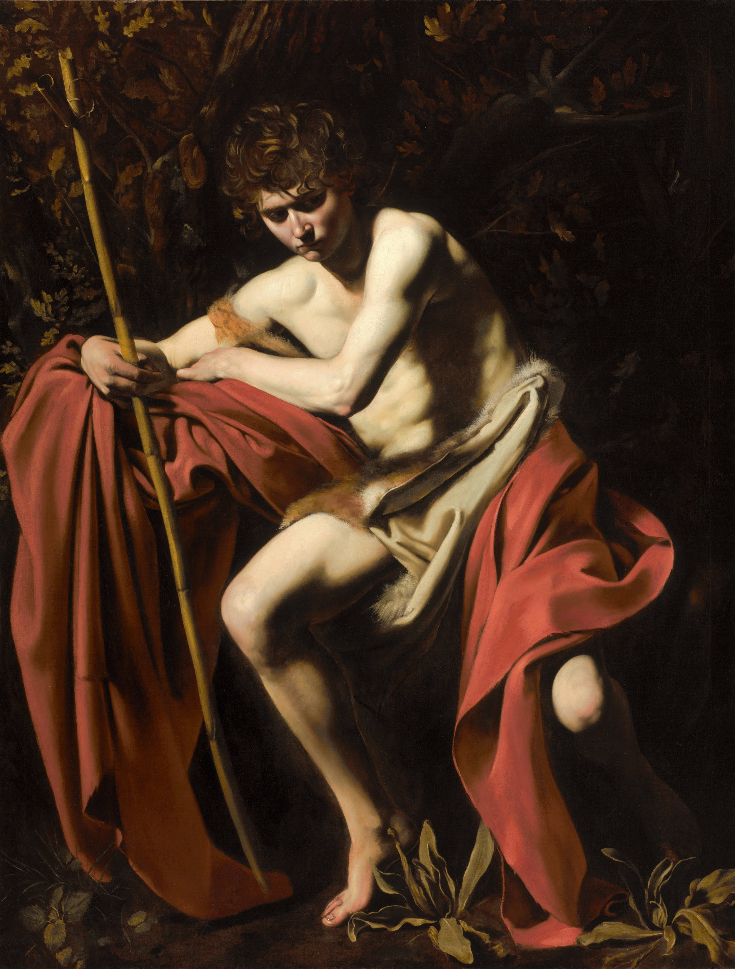 John the Baptist by Caravaggio
