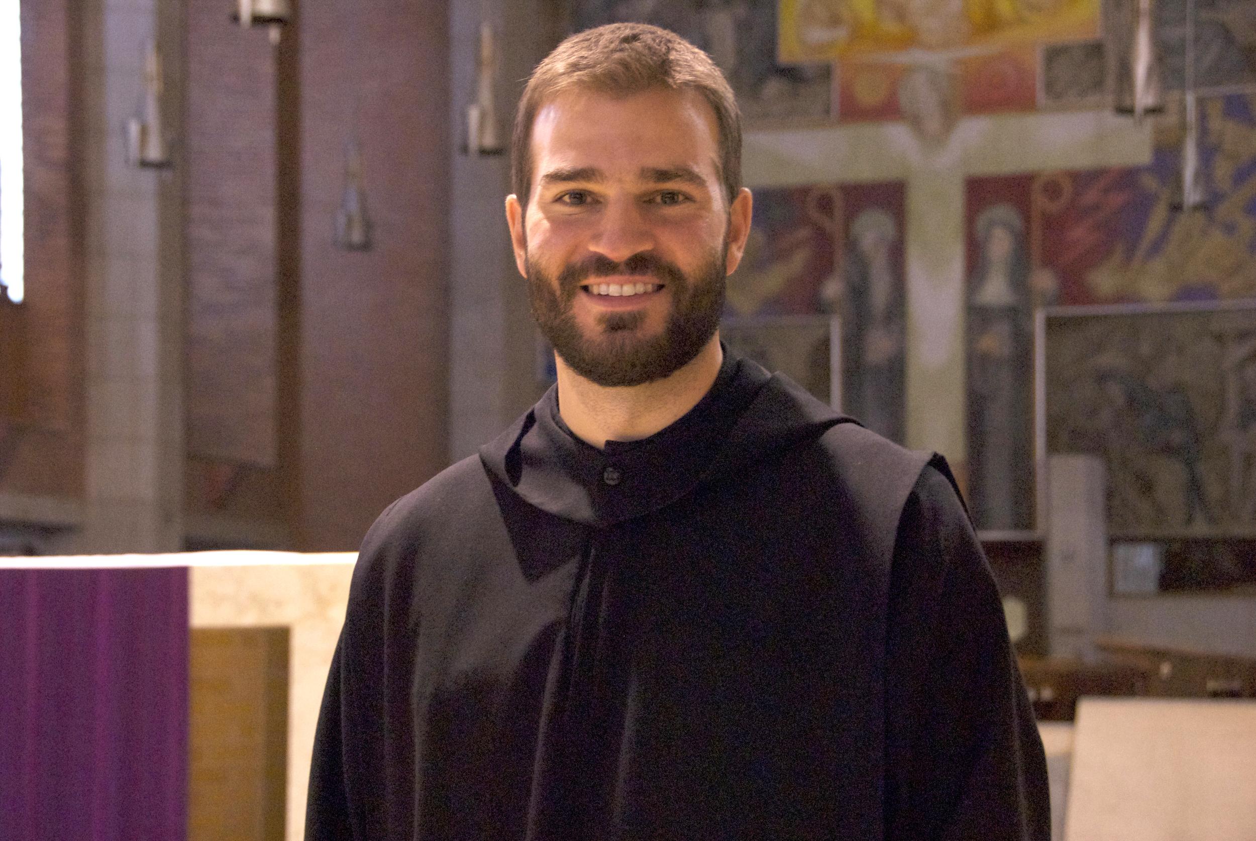 Fr. Simon Baker - Formation Director, Benedictine College Chaplain