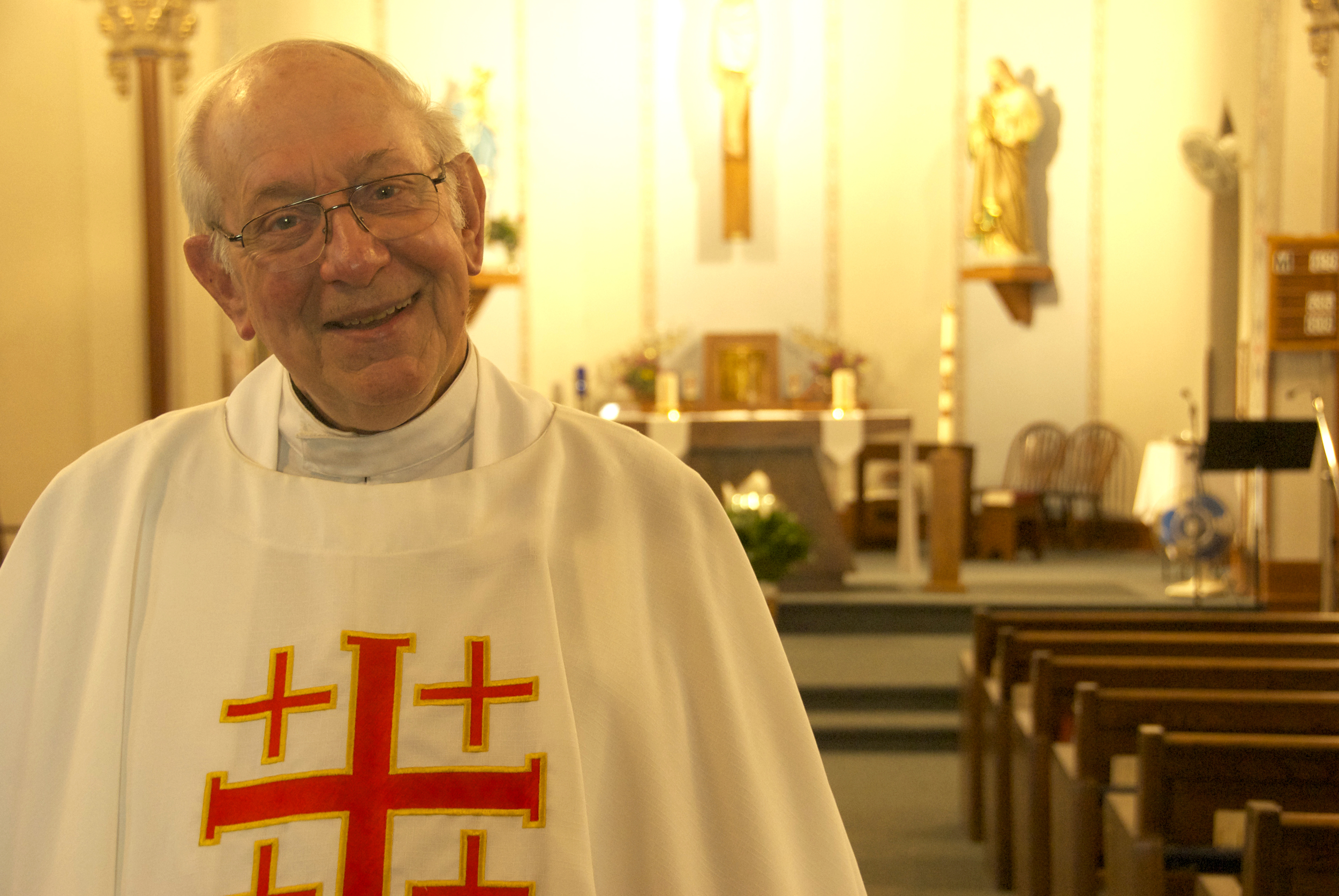 Fr. Albert Hauser - 62 Years