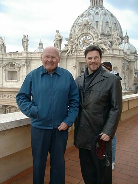 Reggie & Fr. Daniel McCarthy, OSB