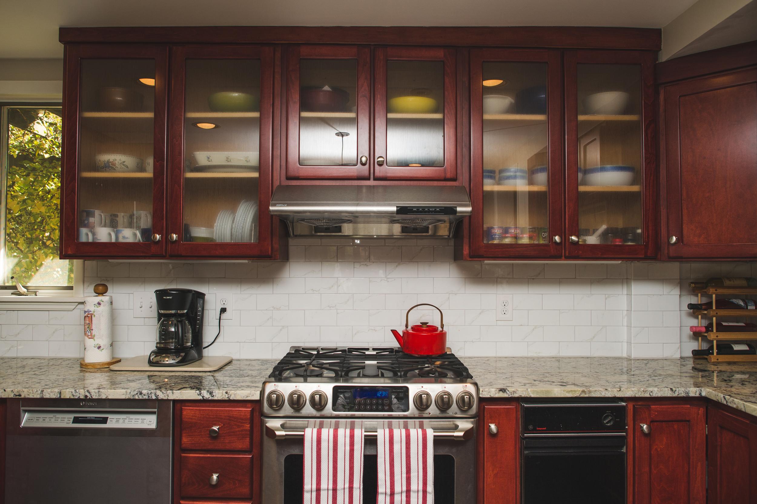 Kitchen refinish Silver Spring, MD