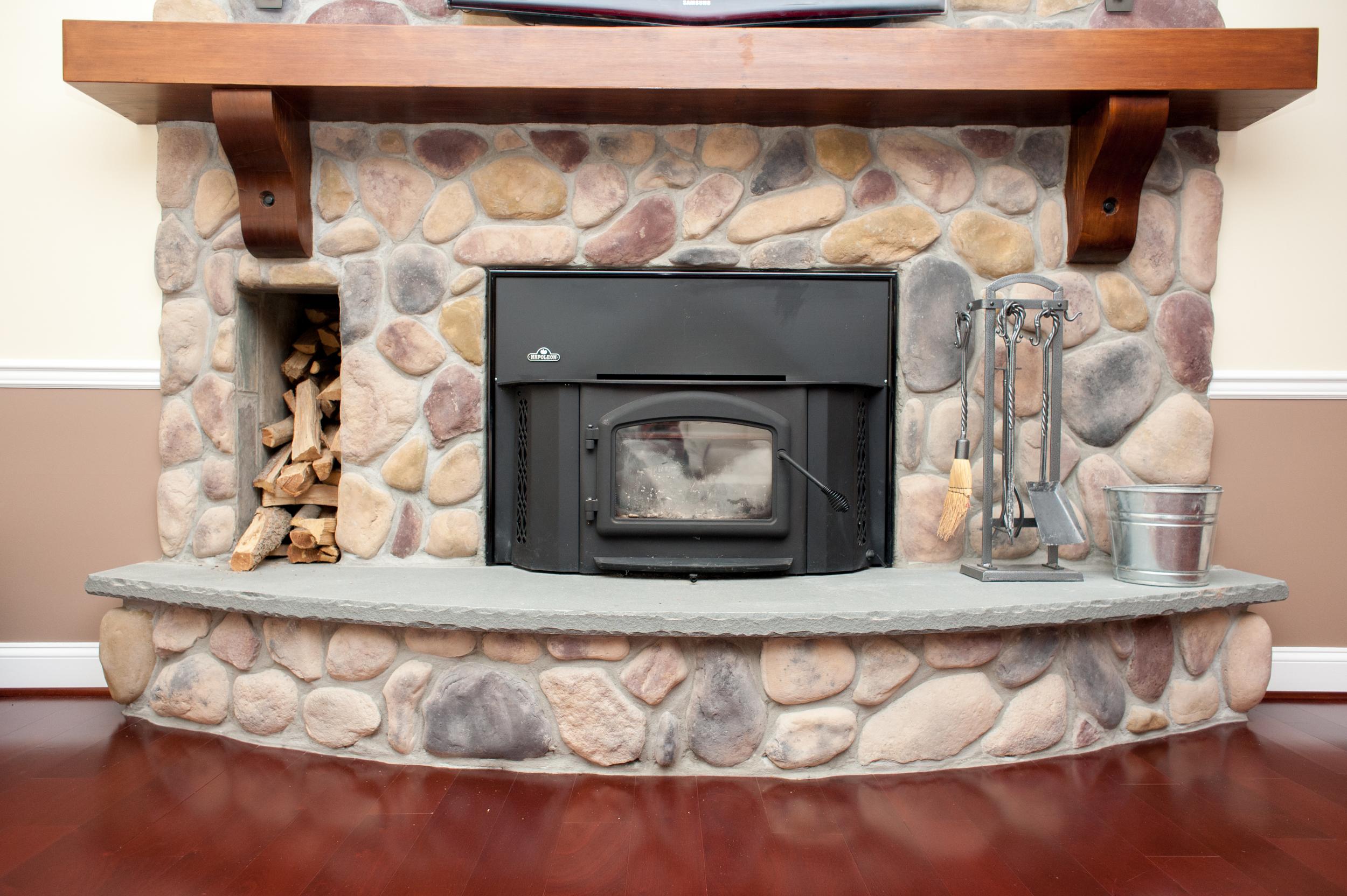 Fireplace renovation Bethesda, MD