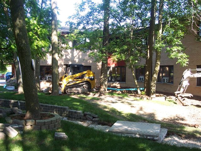 1993 - Construction begins on Residential Center South wing