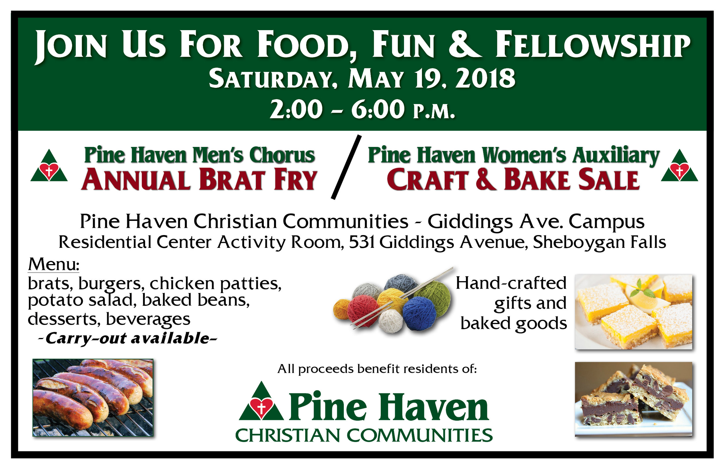2018 Brat Fry-CraftandBake Sale Flyer - Single.jpg