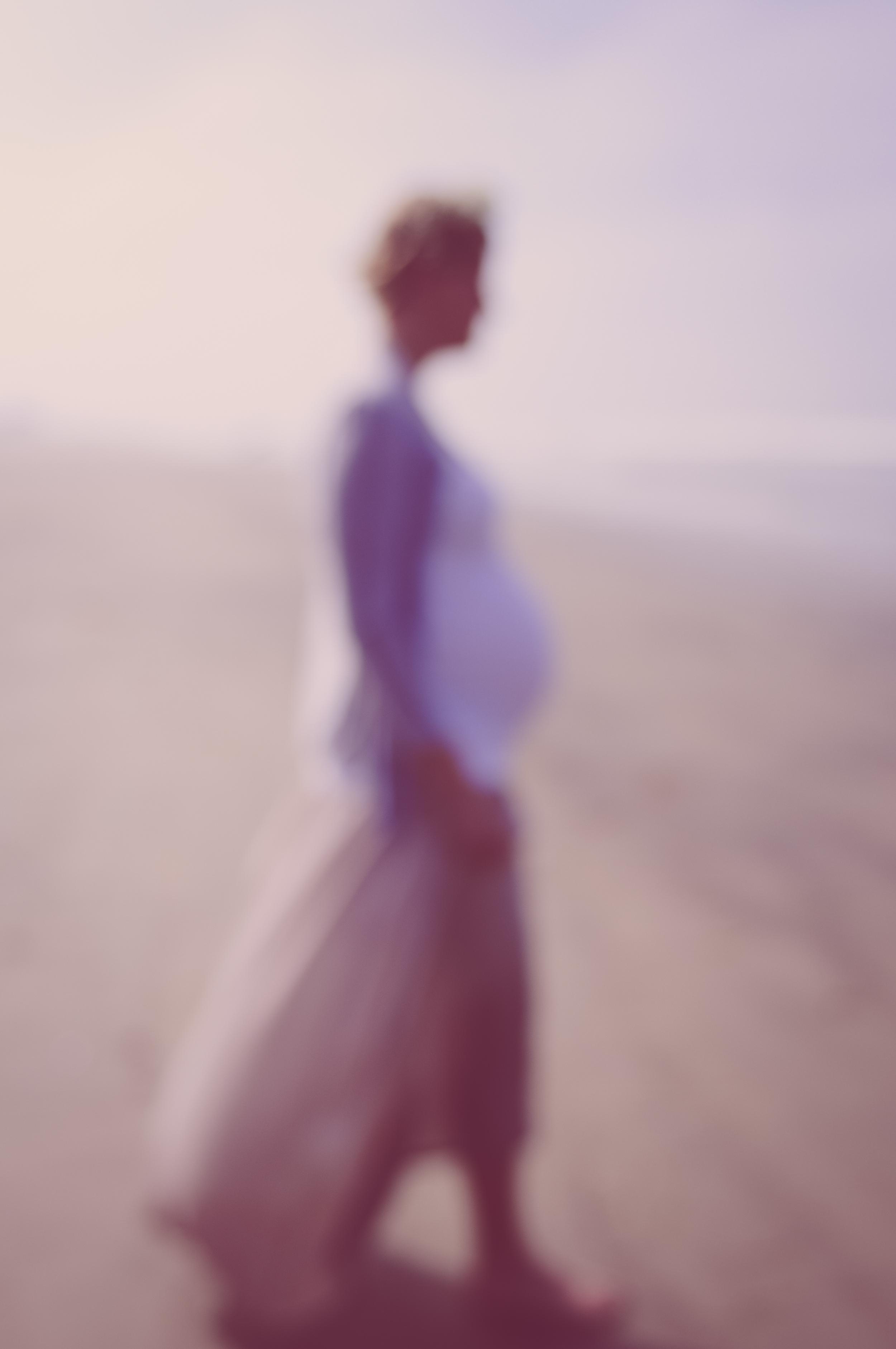 Maternity Photo Session / Coronado Beach