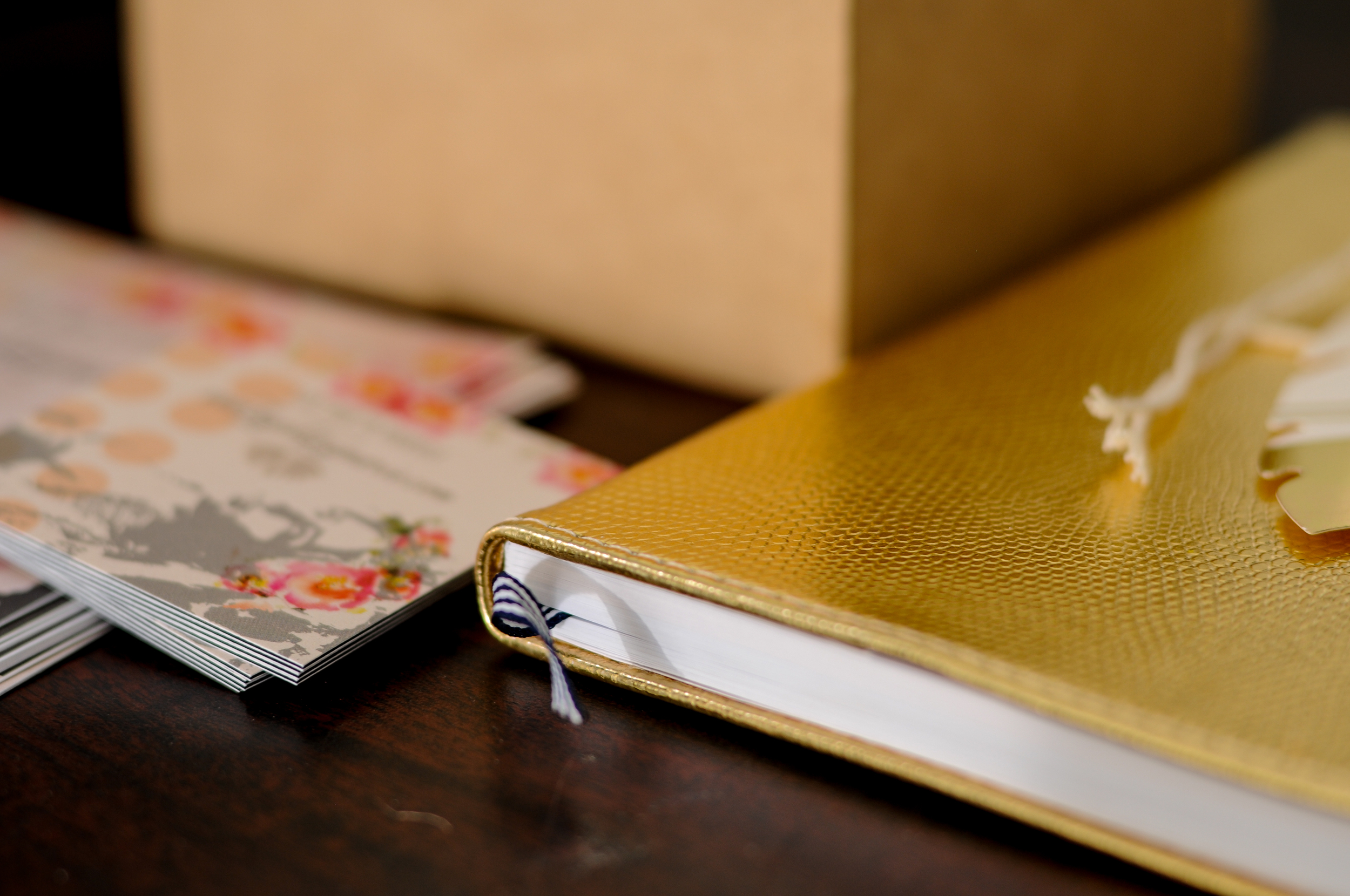 This gold is a pop of color I need and it looks as though it is the color for 2015 weddings