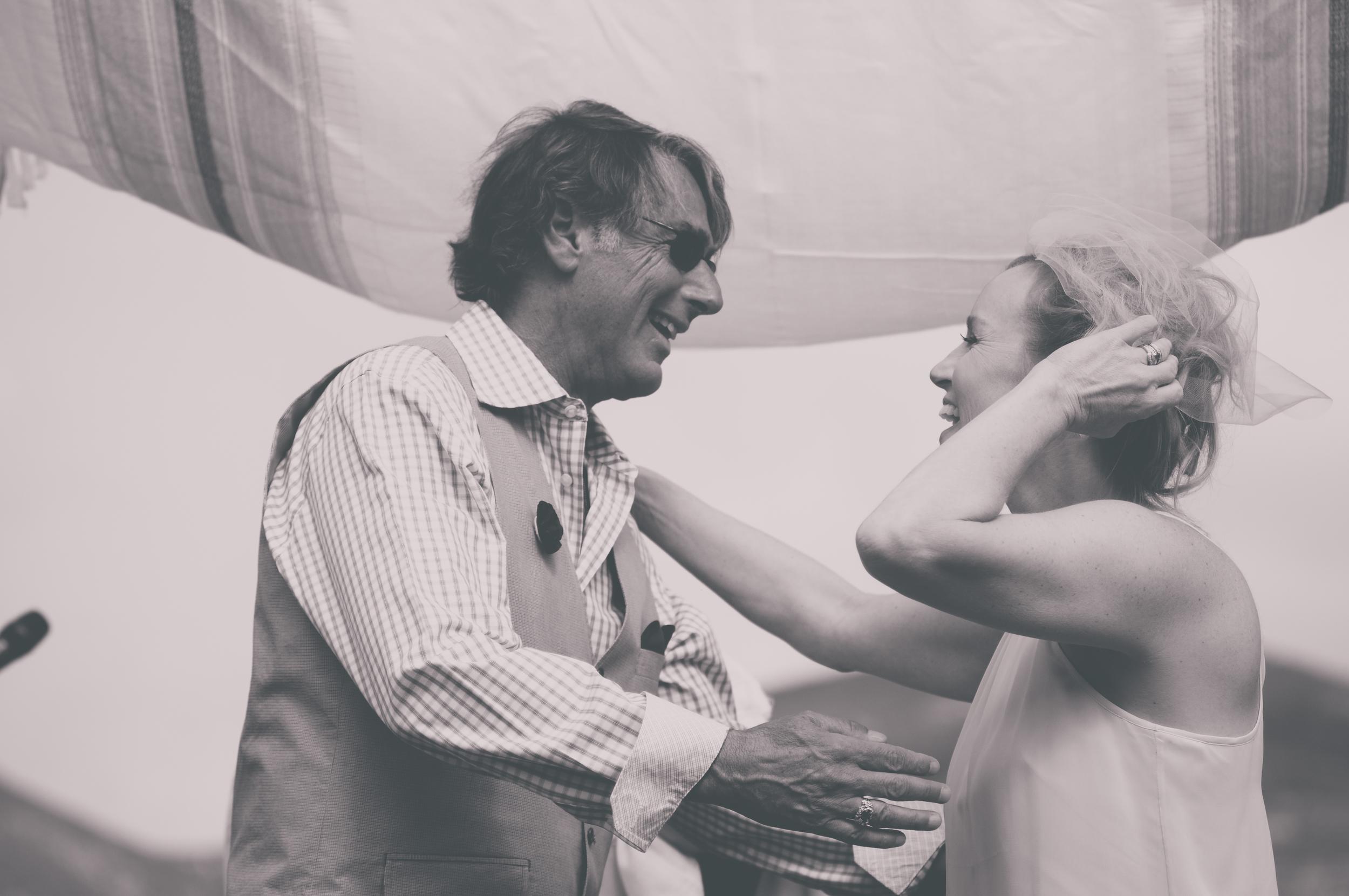 backyard jewish wedding ceremony