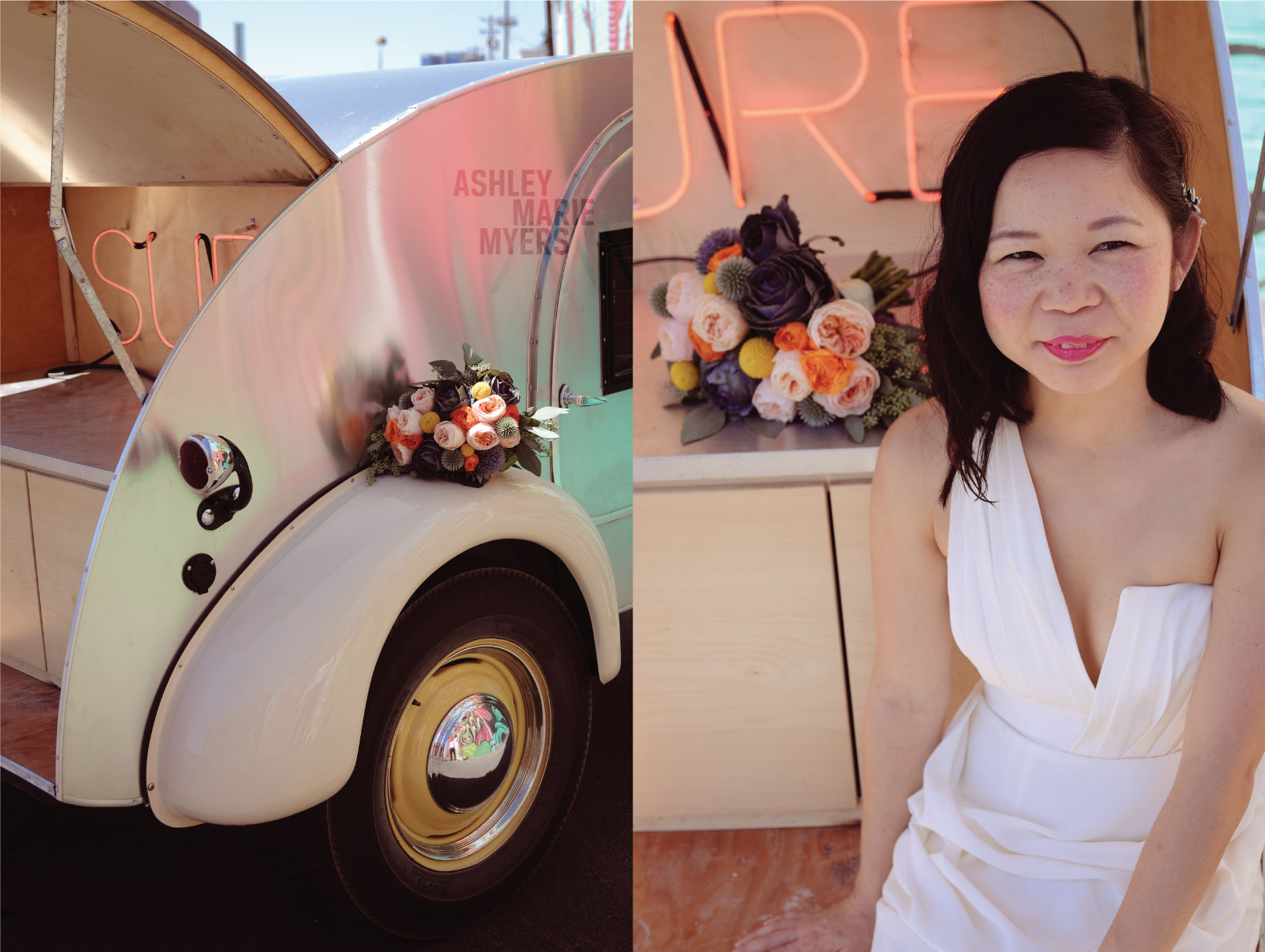 Flora Pop, Downtown Las Vegas Wedding, Park on Fremont, El Cortez Hotel, Fremont Street, Las Vegas Wedding, Las Vegas Elopement,