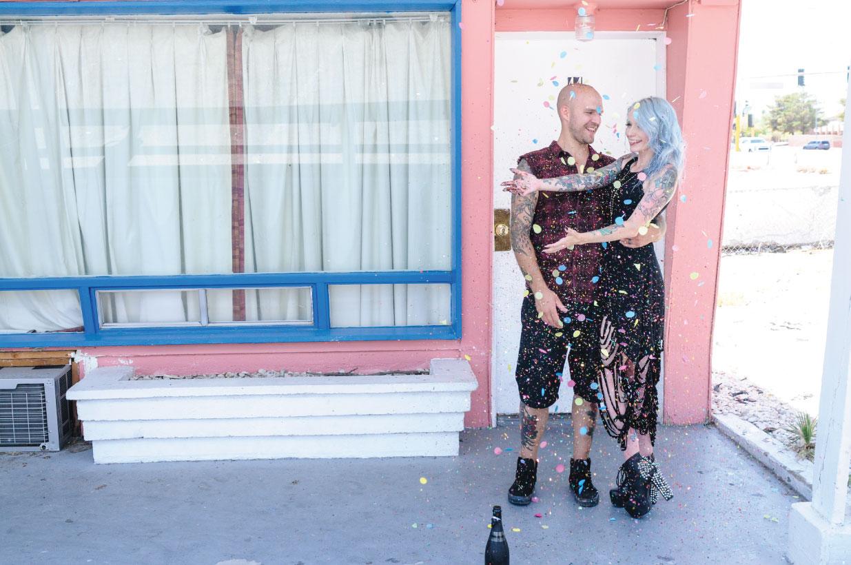 Las Vegas Elopement, Las Vegas wedding, Elopement, flora pop elopement, pop up wedding
