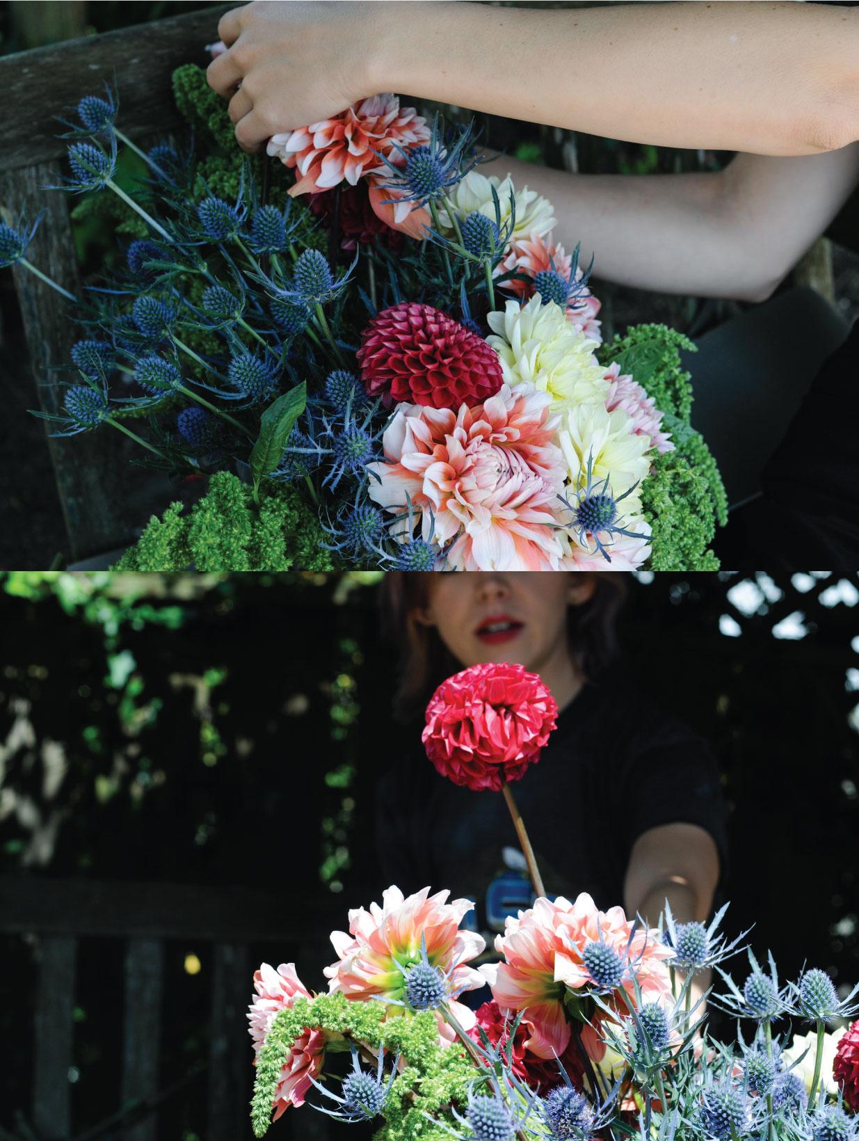 flora pop, san francisco, elope, pop up wedding, bouquet, beautiful bouquet, flowers,