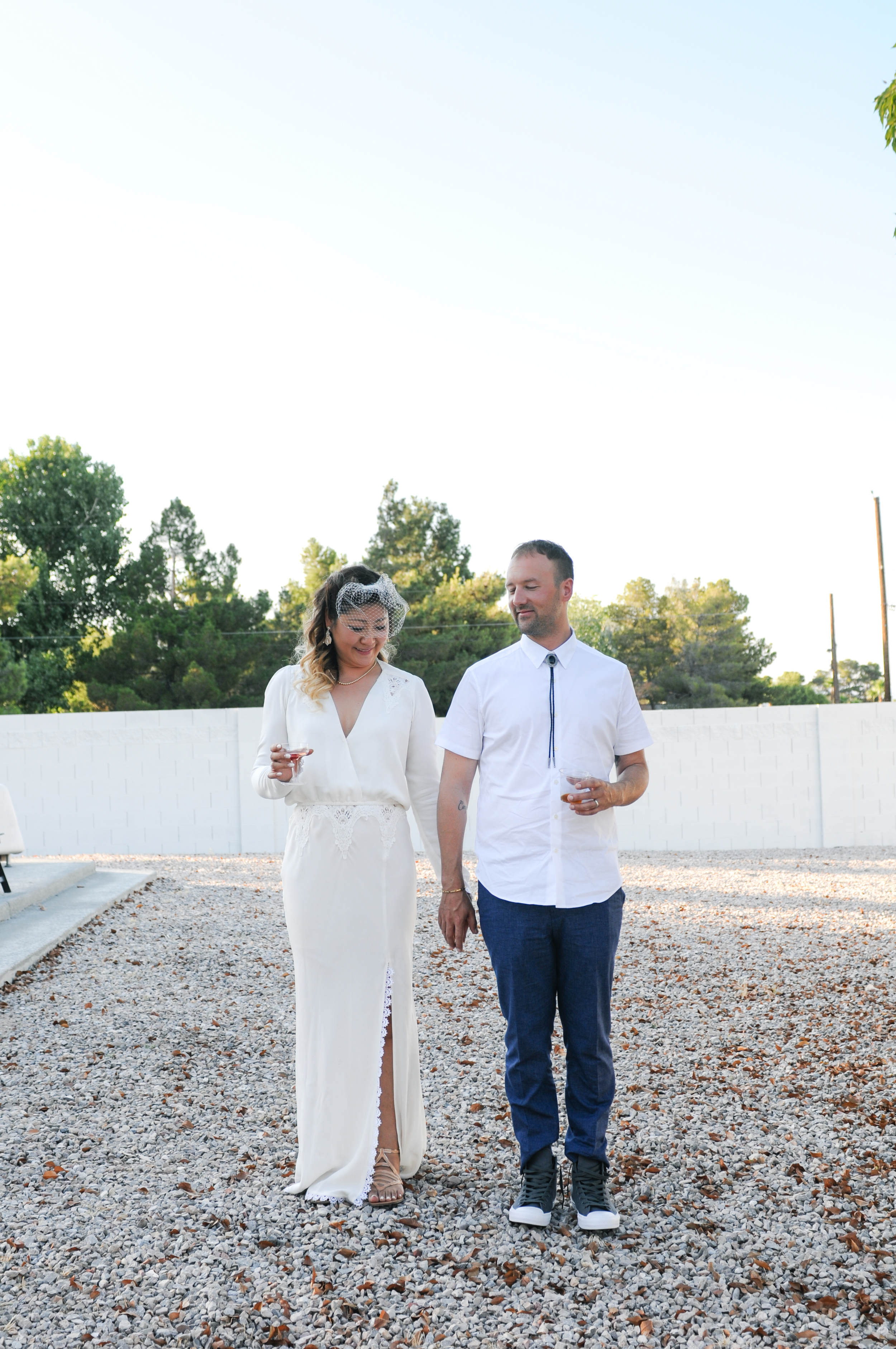 las vegas wedding, backyard wedding, simple wedding, vintage dress, simple wedding las vegas, california backyard wedding, ashley marie myers