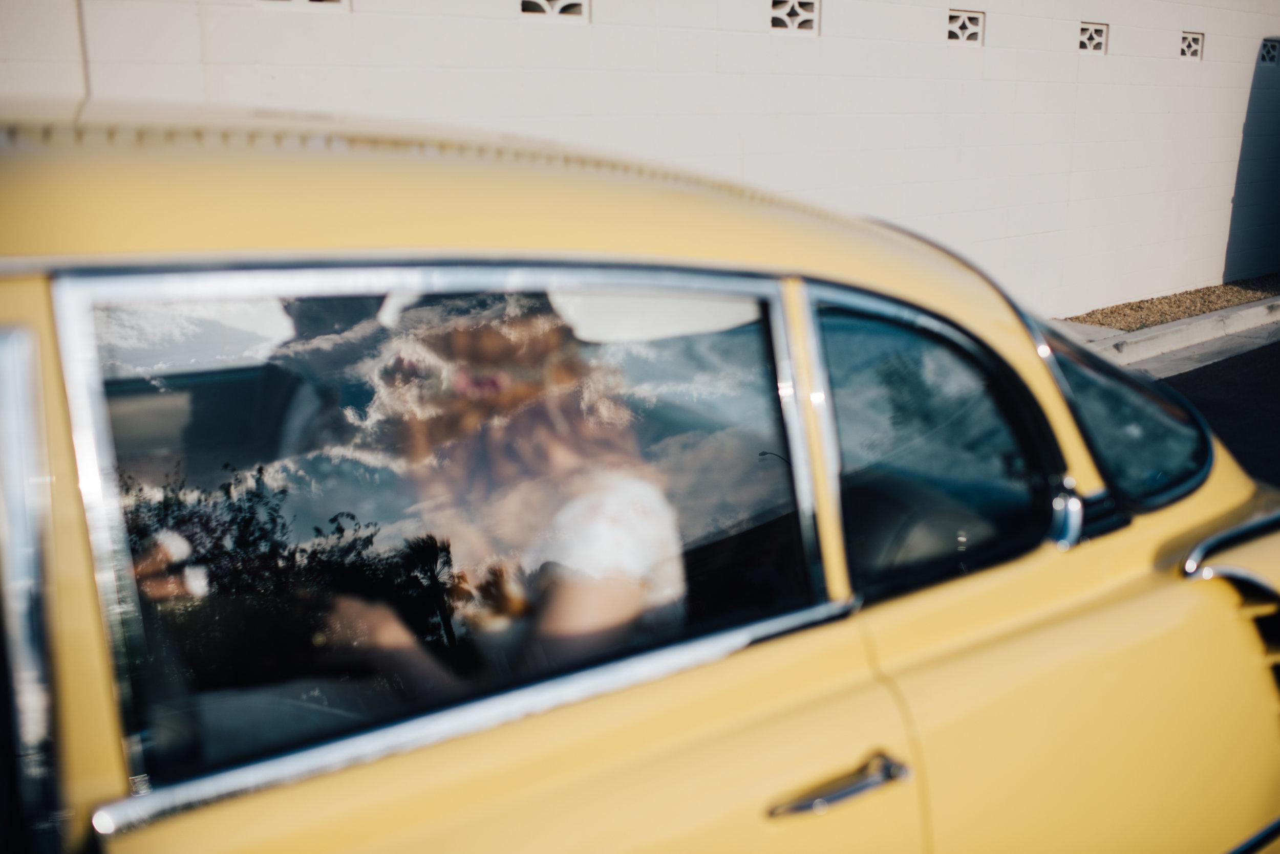 Neon museum Las vegas, Neon Signs,red head, ginger bride, vintage wedding, wedding las vegas, elopement las vegas, elopement, peachy keen union, red head bride, vintage bride, vintage car, tetra, yellow, desert wedding, summer wedding, las vegas, mojave desert, wedding inspiration, wed, i do, charming, las vegas elopement, elope, elopement photographer