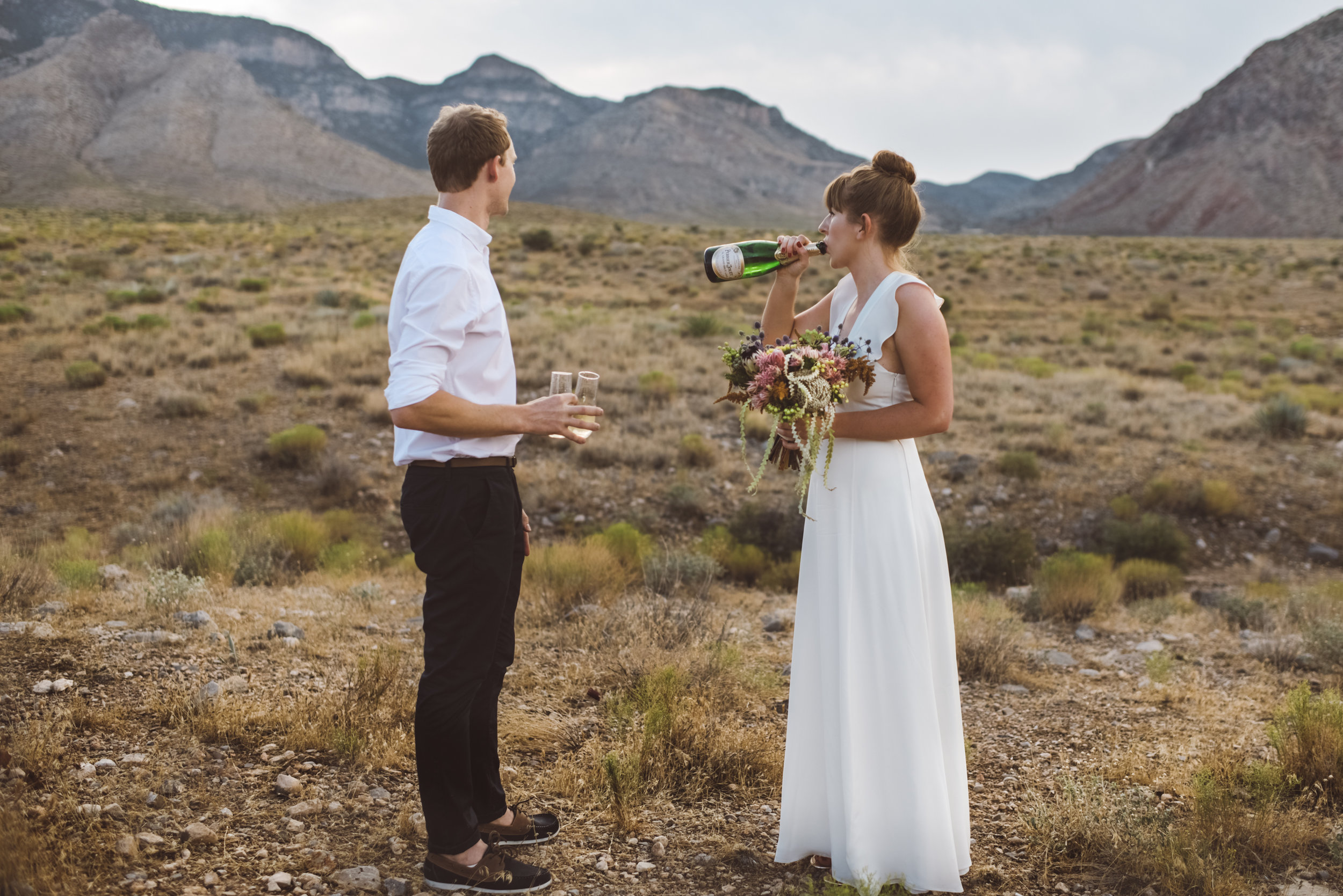 FLora Pop Desert Ceremony Red Rock Las Vegas Photography by Ashley Marie-108.jpg