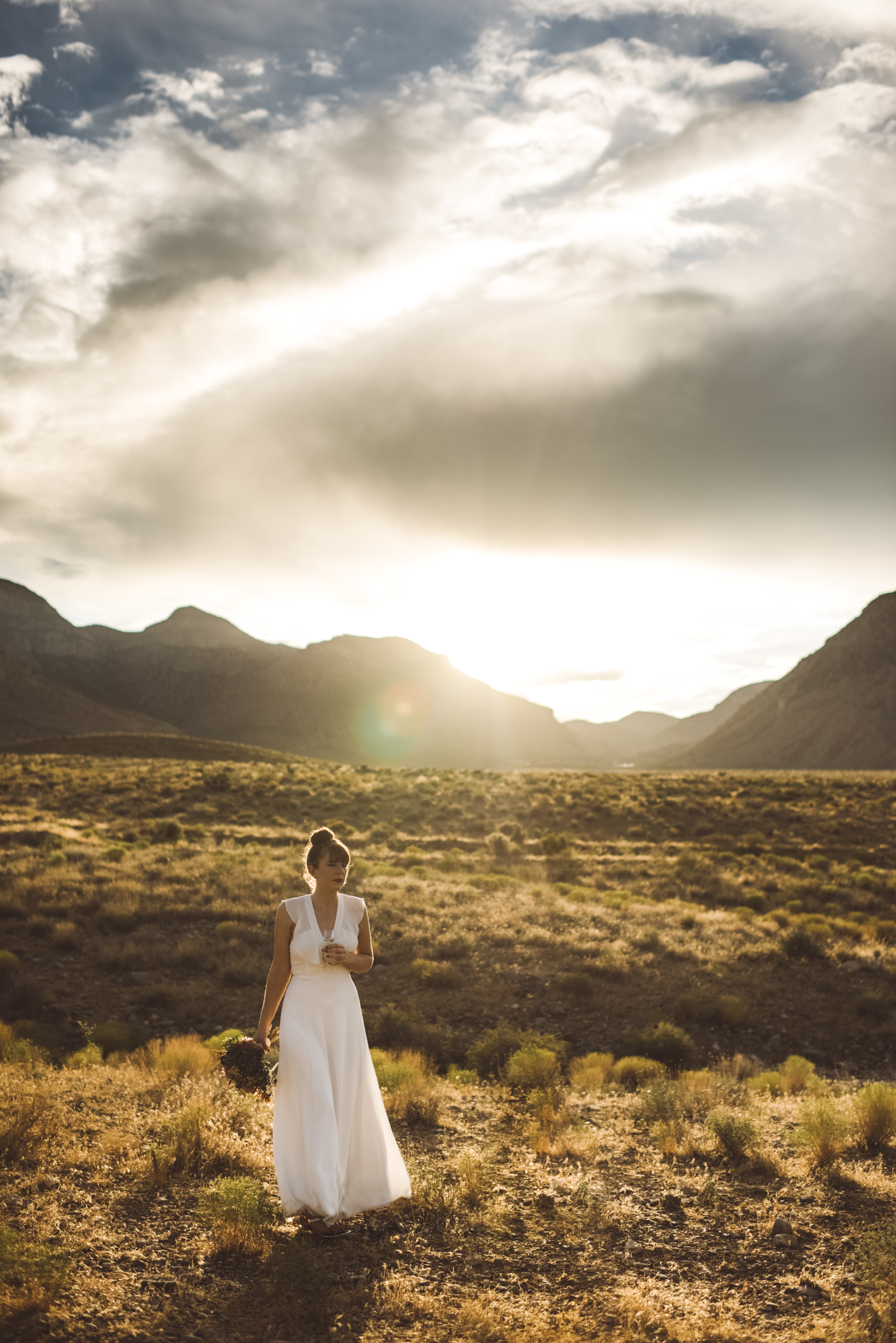 FLora Pop Desert Ceremony Red Rock Las Vegas Photography by Ashley Marie-227.jpg