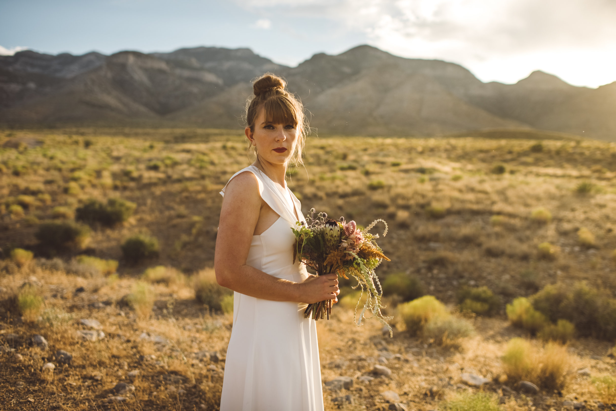 FLora Pop Desert Ceremony Red Rock Las Vegas Photography by Ashley Marie-225.jpg