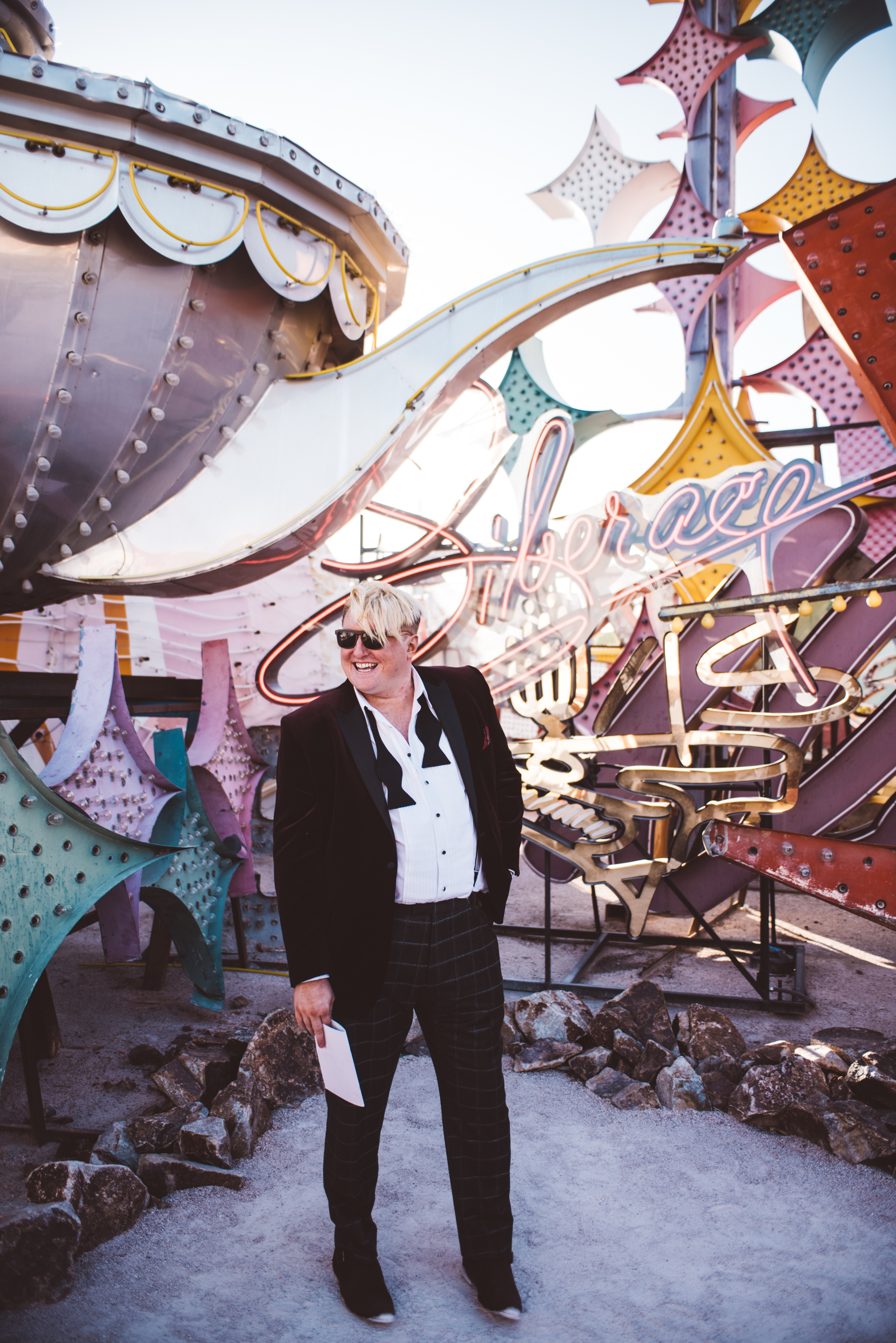 Neon Museum Elopement Elvis Elopement Las Vegas Photography by Ashley Marie-30.jpg