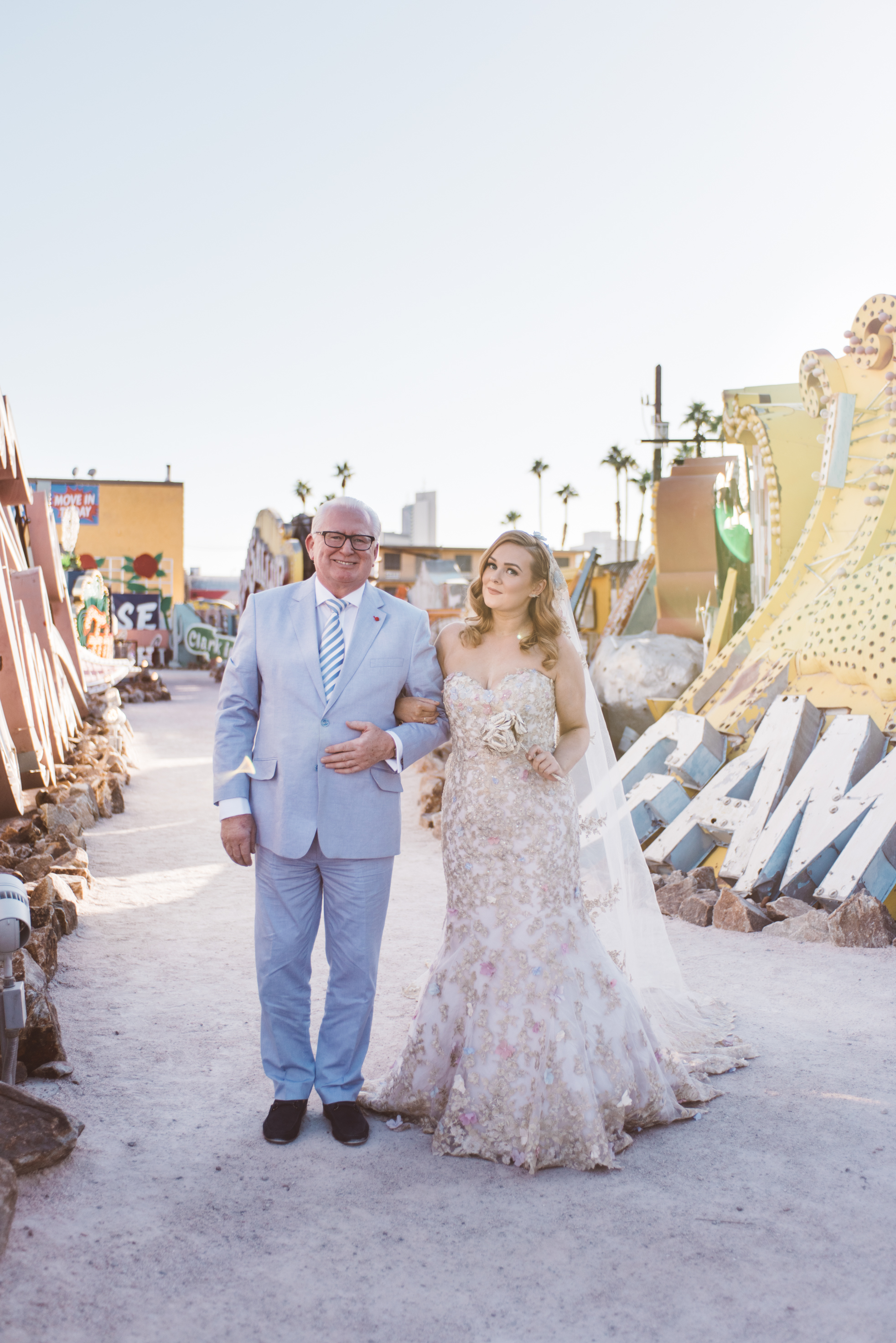 Neon Museum Elopement Elvis Elopement Las Vegas Photography by Ashley Marie-37.jpg