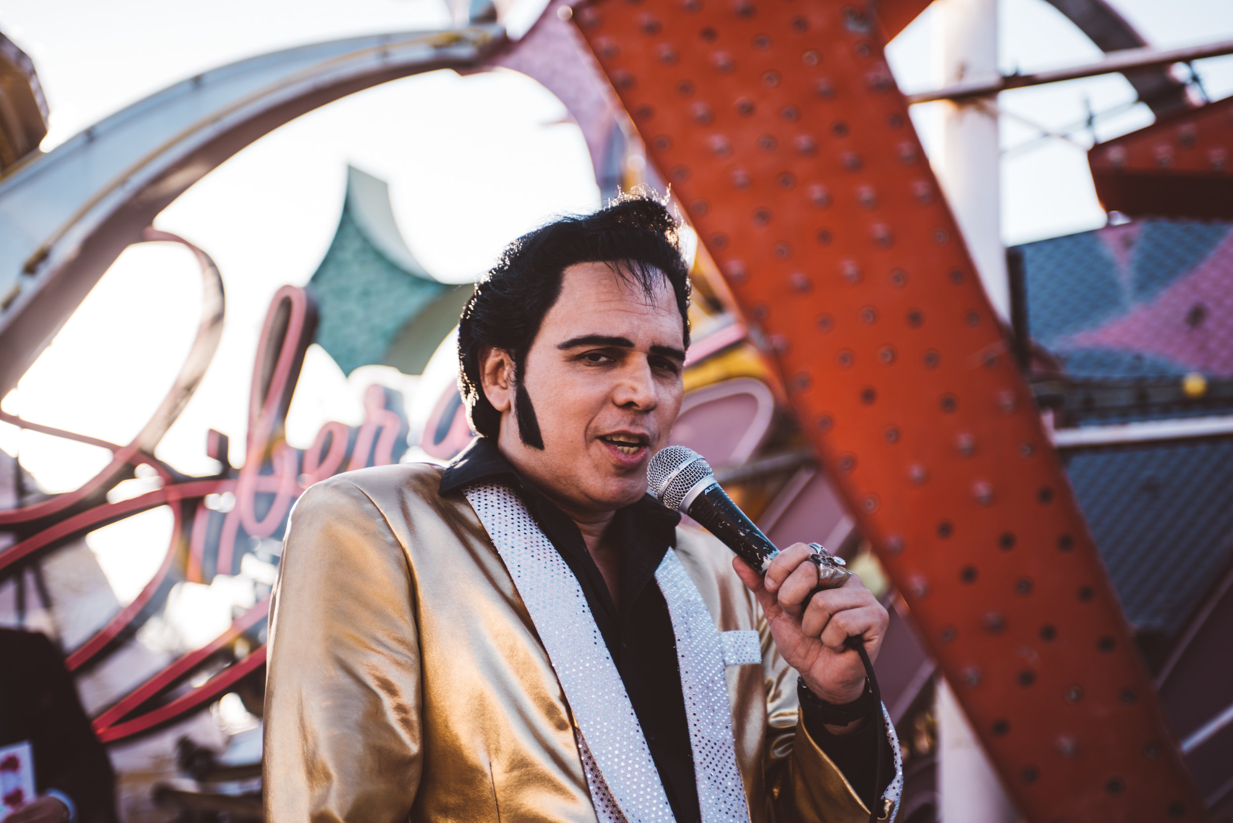 Neon Museum Elopement Elvis Elopement Las Vegas Photography by Ashley Marie-46.jpg