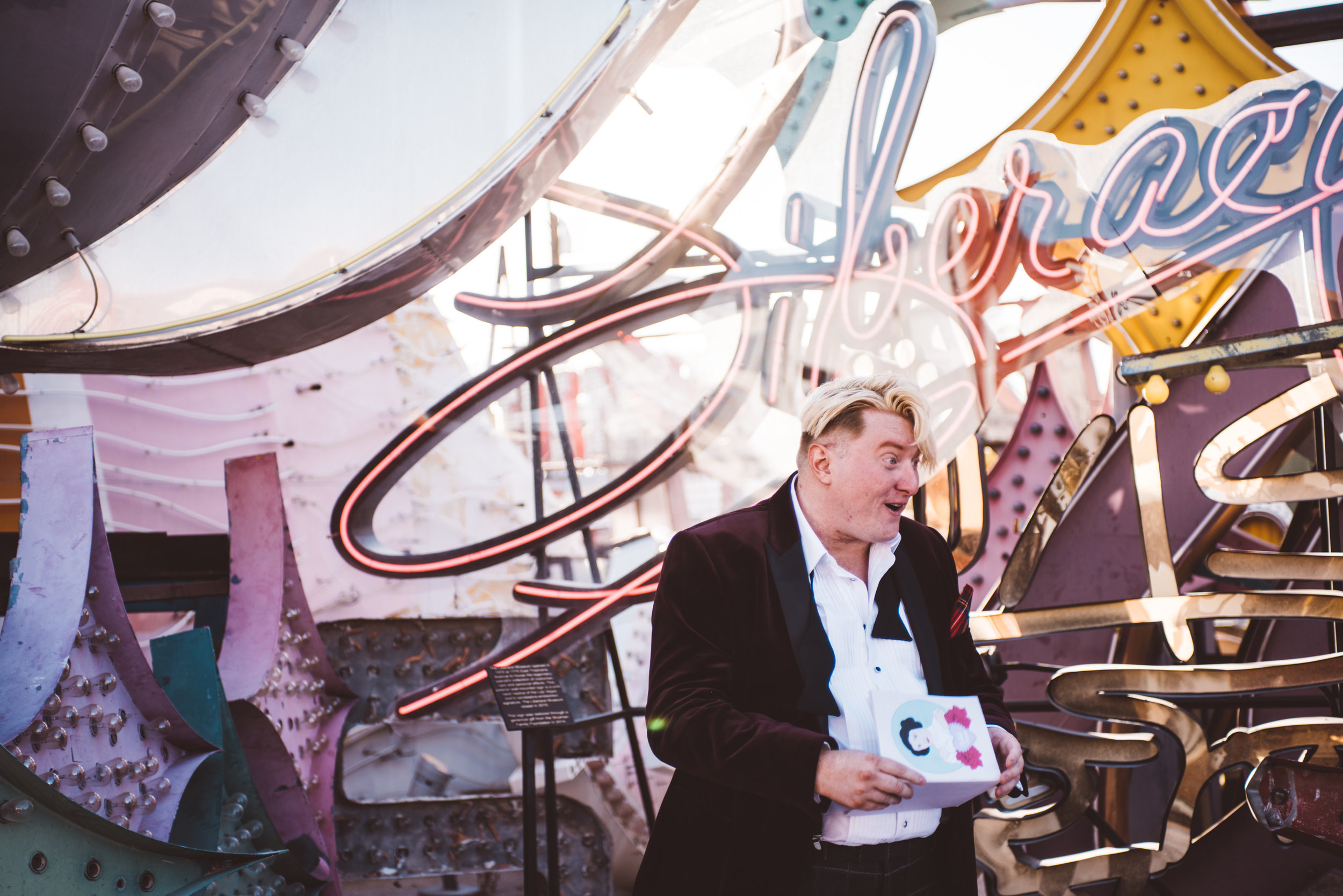 Neon Museum Elopement Elvis Elopement Las Vegas Photography by Ashley Marie-53.jpg