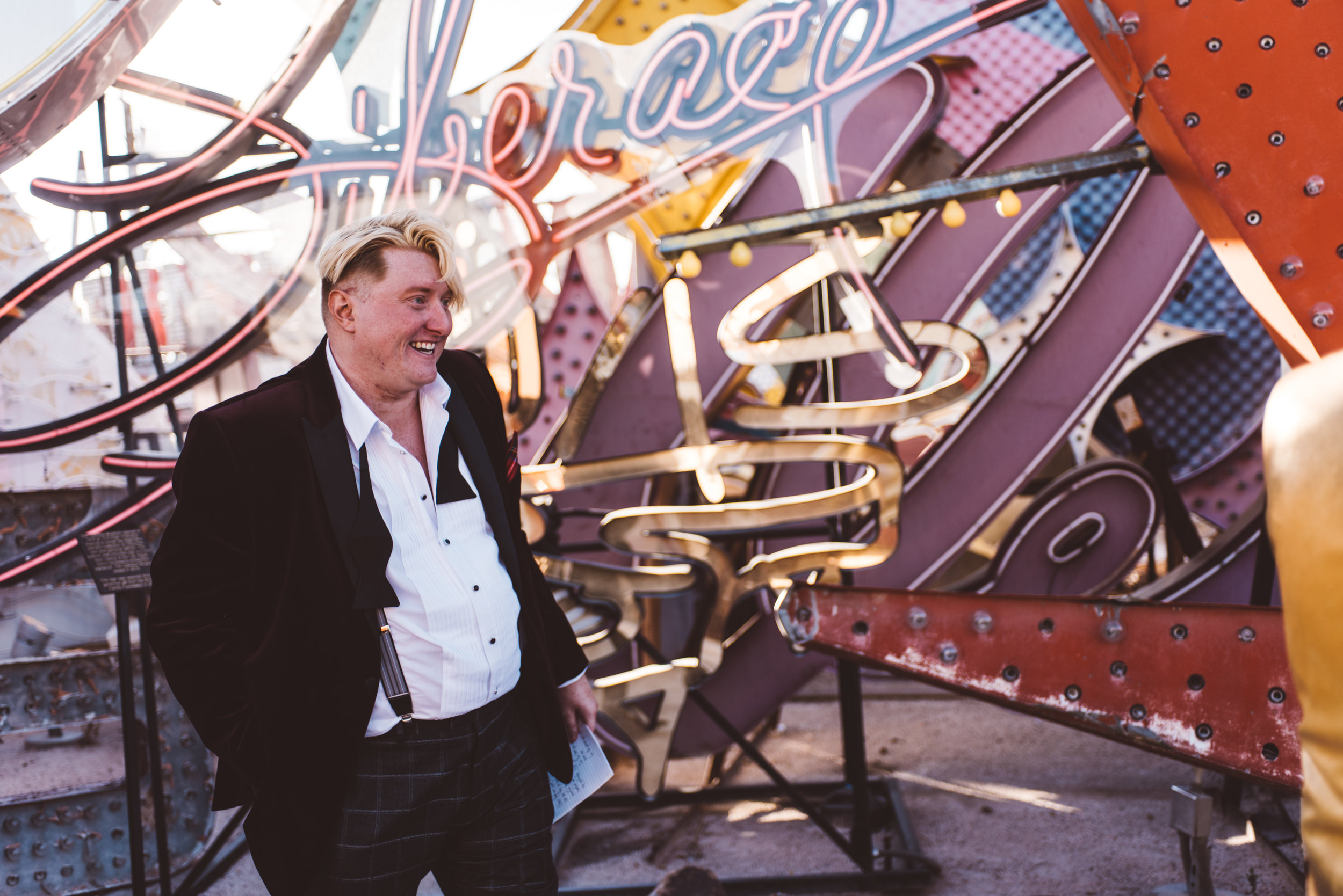 Neon Museum Elopement Elvis Elopement Las Vegas Photography by Ashley Marie-60.jpg