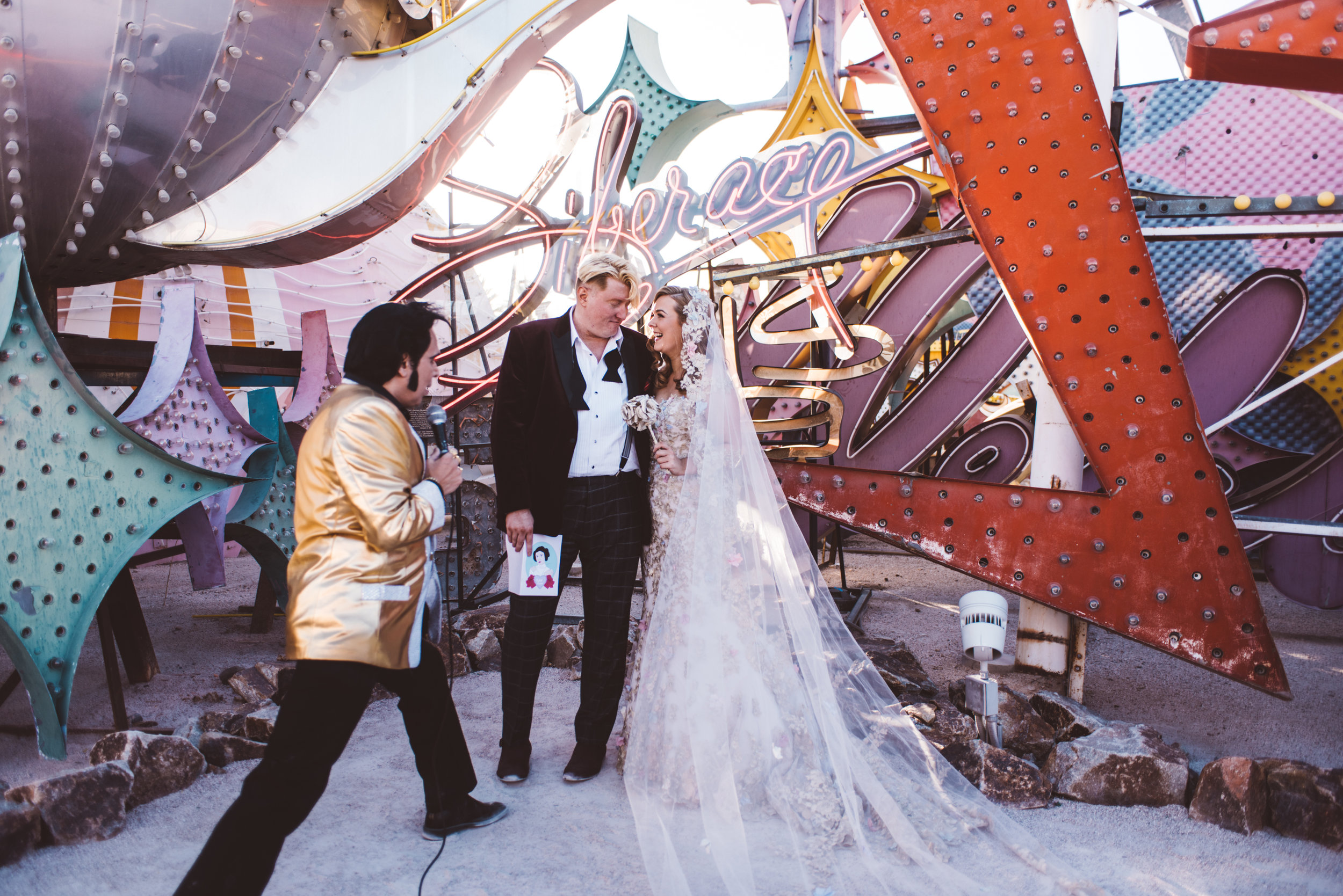 Neon Museum Elopement Elvis Elopement Las Vegas Photography by Ashley Marie-67.jpg