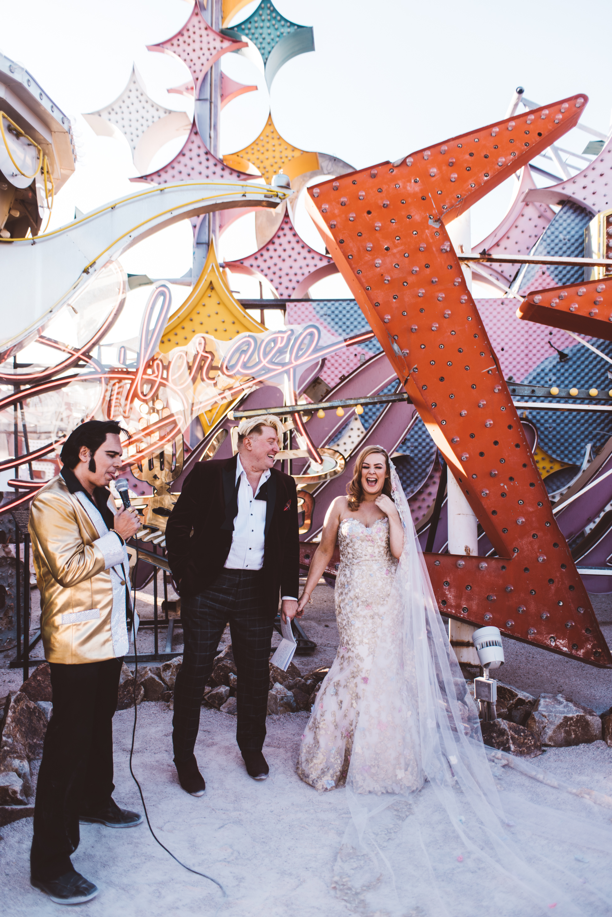 Neon Museum Elopement Elvis Elopement Las Vegas Photography by Ashley Marie-75.jpg