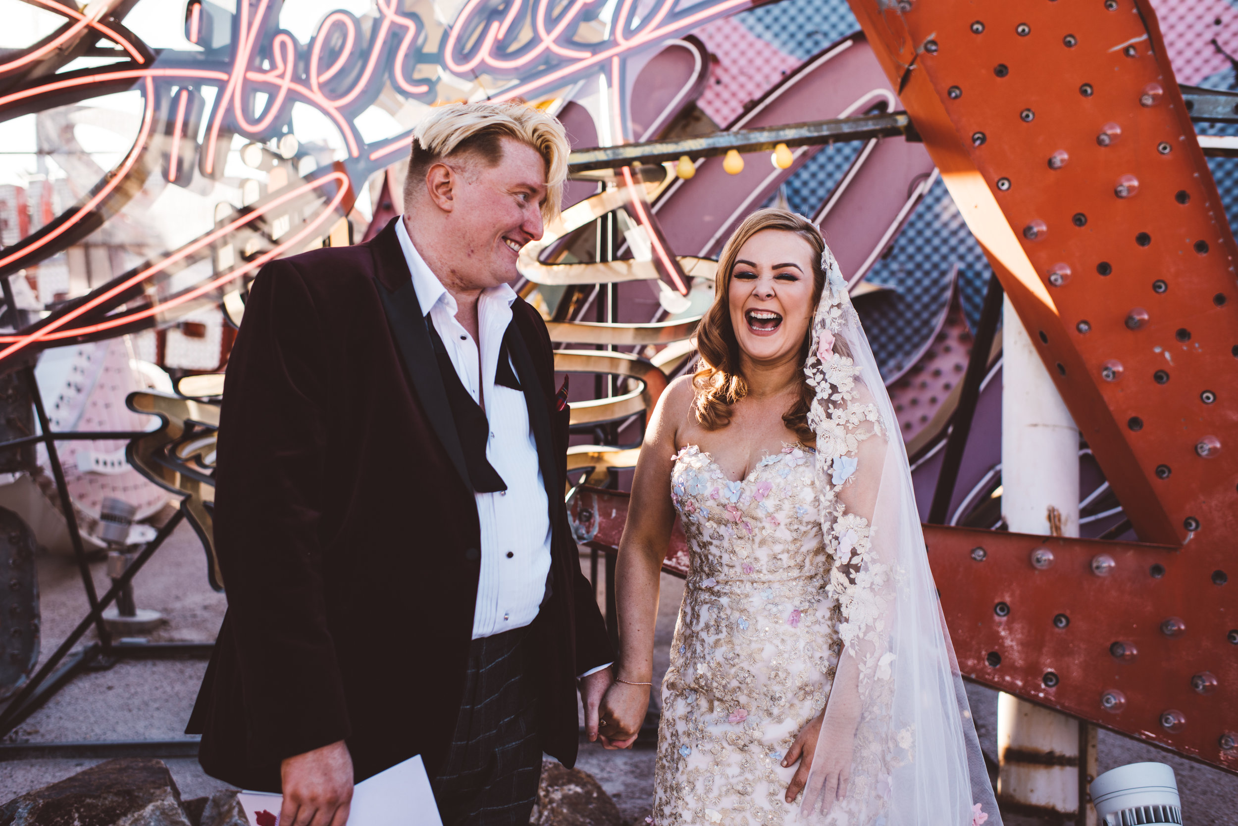 Neon Museum Elopement Elvis Elopement Las Vegas Photography by Ashley Marie-84.jpg