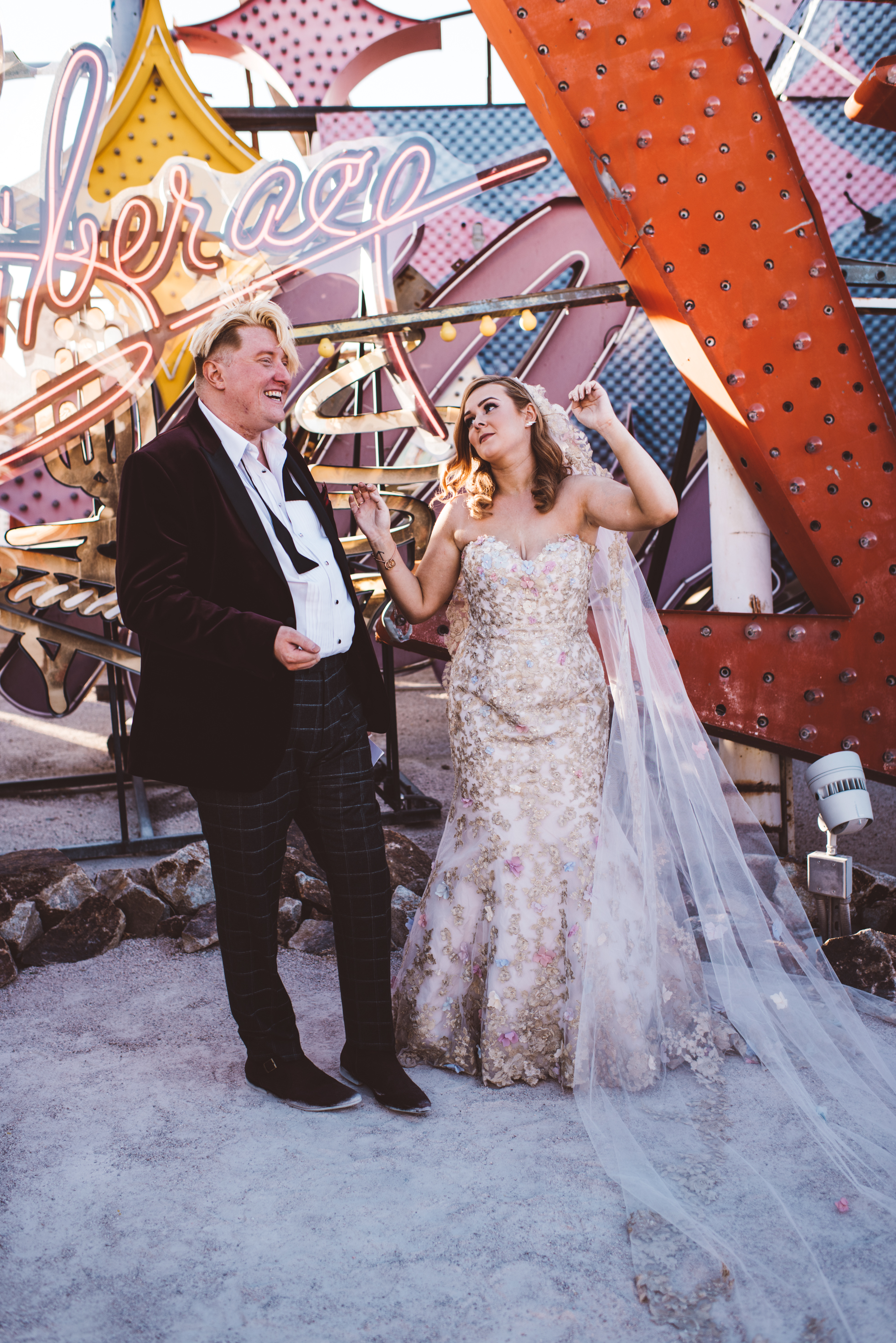 Neon Museum Elopement Elvis Elopement Las Vegas Photography by Ashley Marie-107.jpg