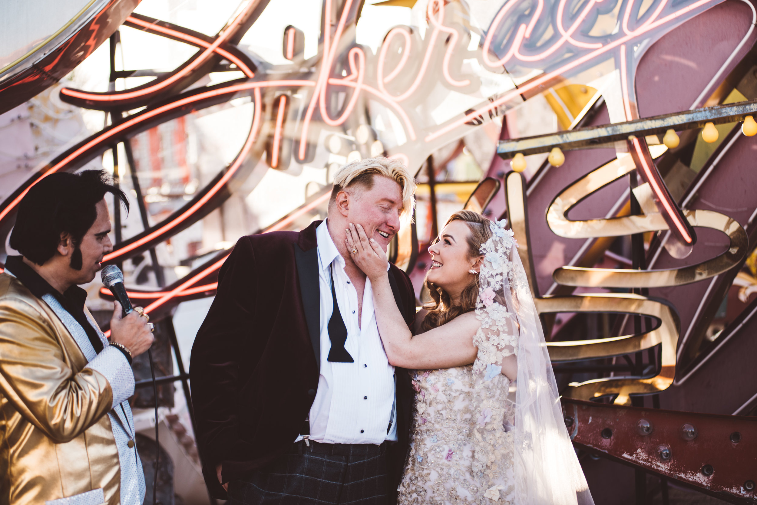 Neon Museum Elopement Elvis Elopement Las Vegas Photography by Ashley Marie-144.jpg