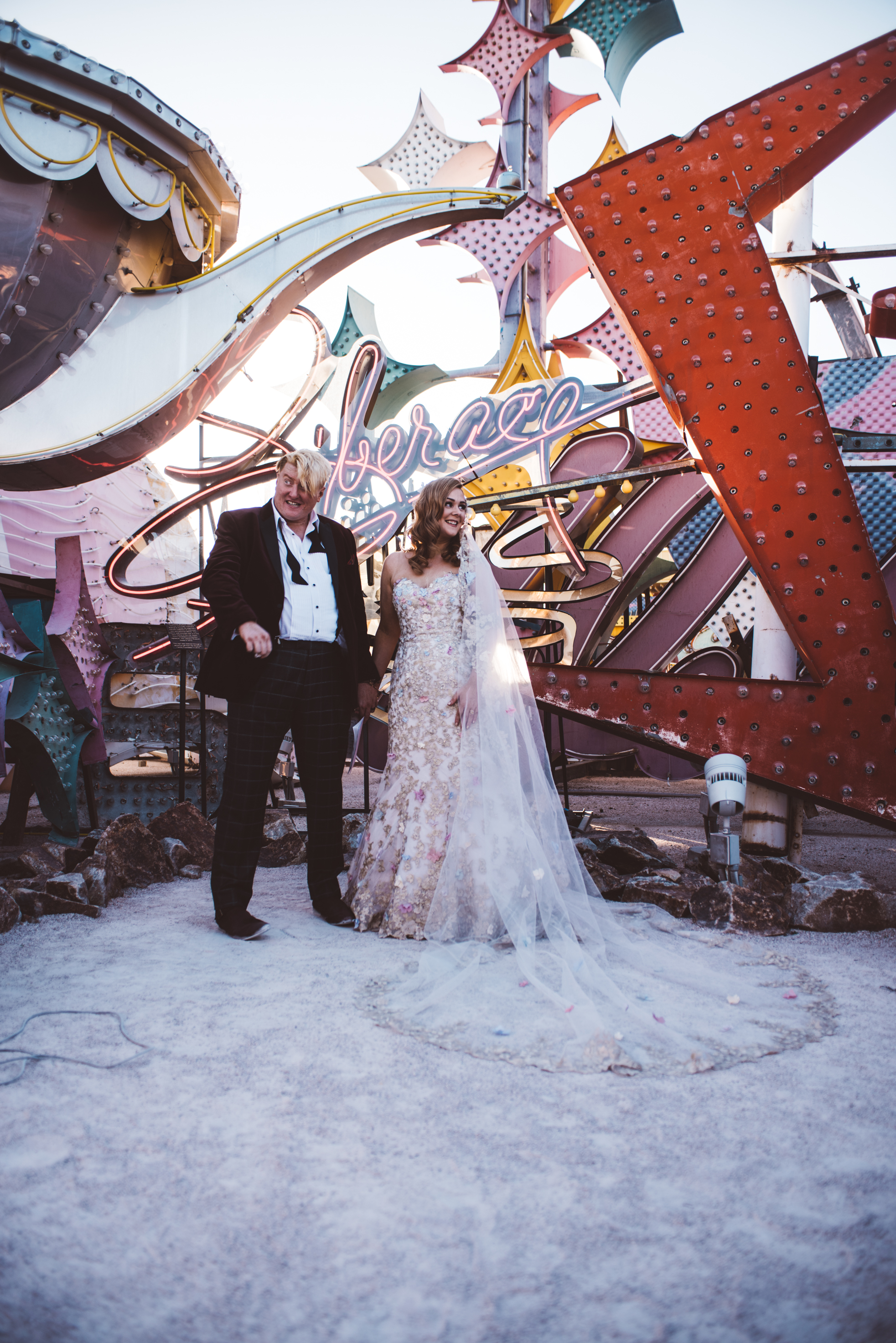 Neon Museum Elopement Elvis Elopement Las Vegas Photography by Ashley Marie-157.jpg
