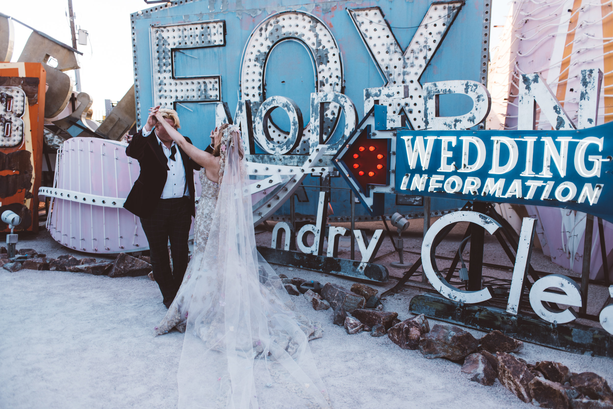 Neon Museum Elopement Elvis Elopement Las Vegas Photography by Ashley Marie-229.jpg