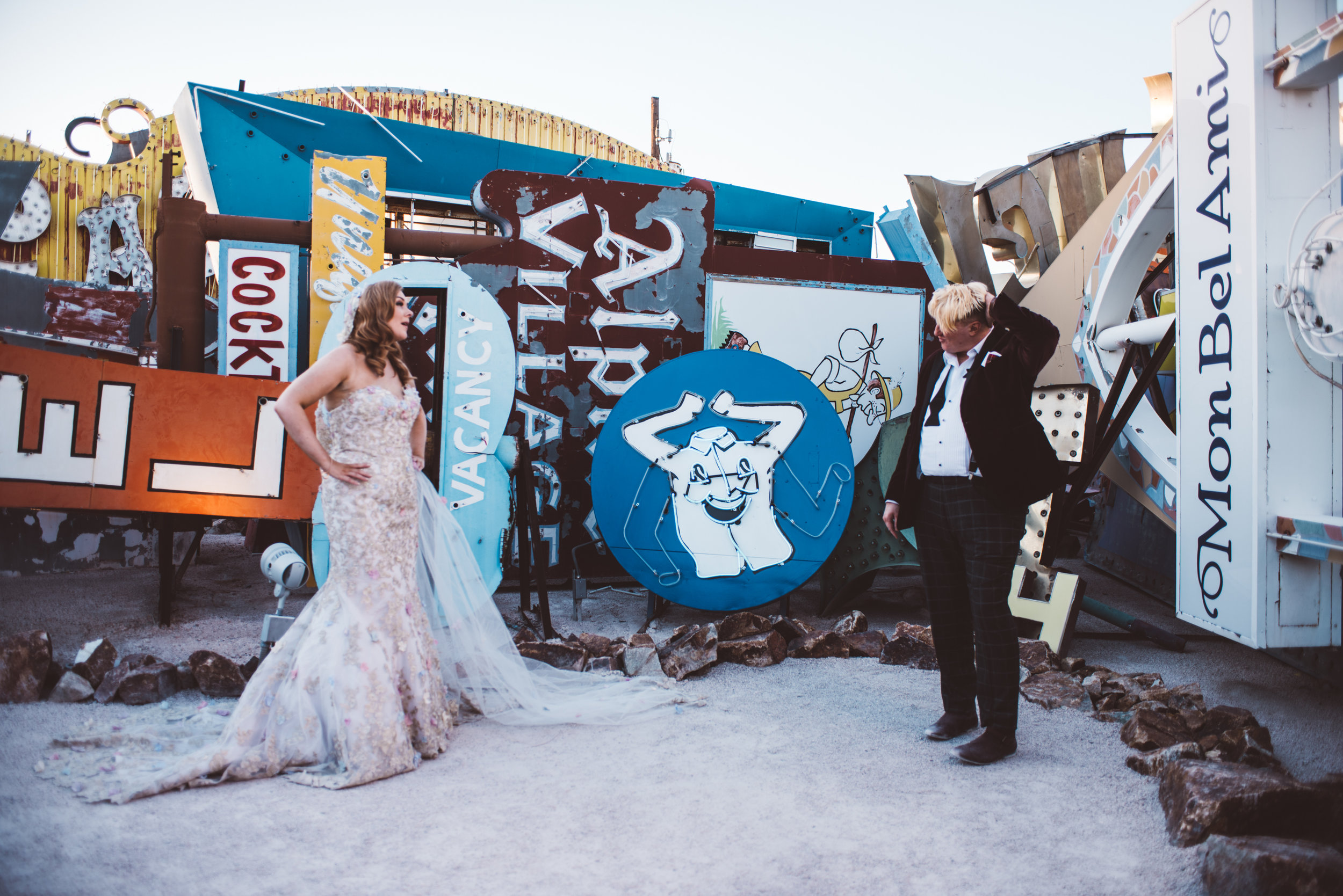 Neon Museum Elopement Elvis Elopement Las Vegas Photography by Ashley Marie-246.jpg