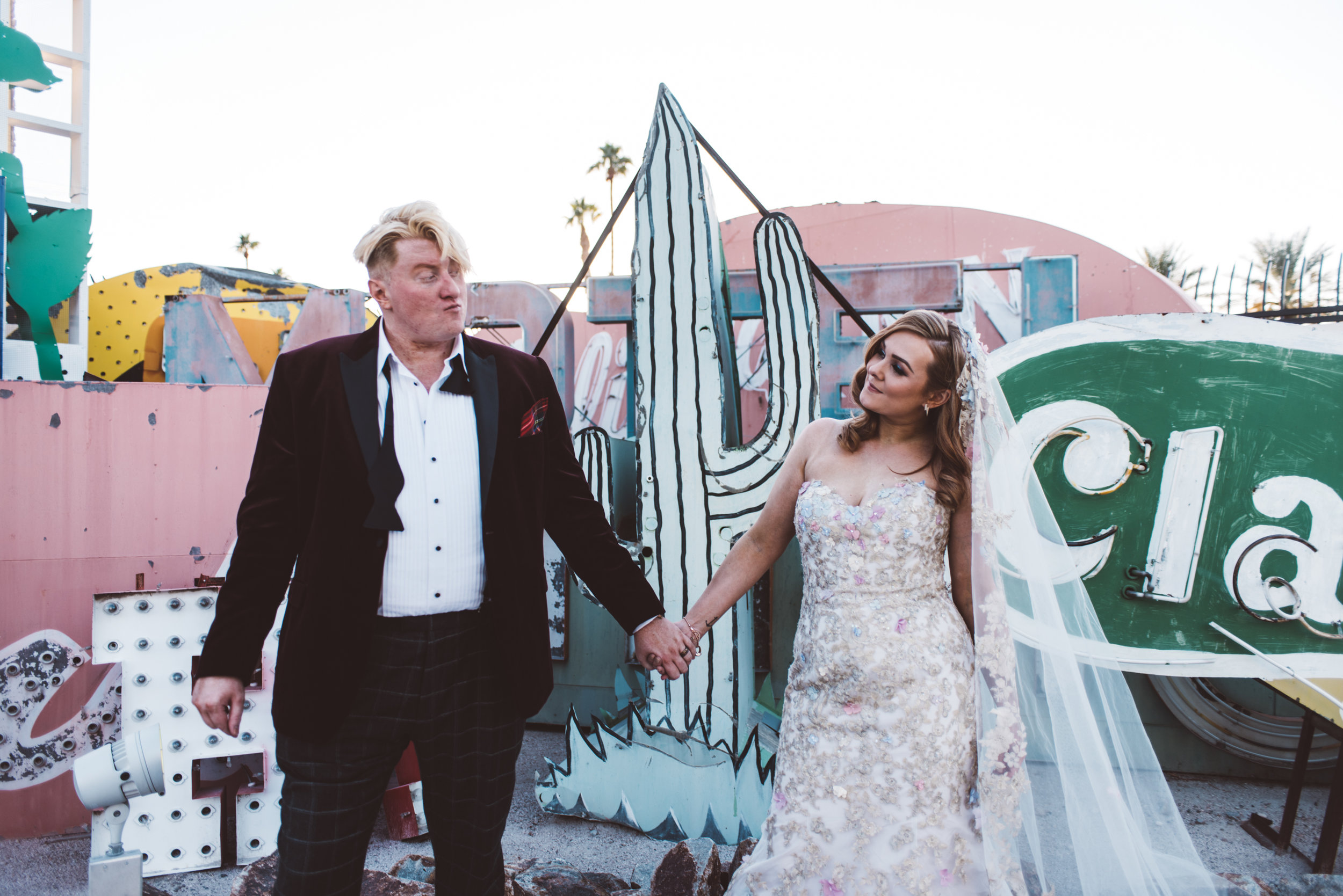 Neon Museum Elopement Elvis Elopement Las Vegas Photography by Ashley Marie-252.jpg