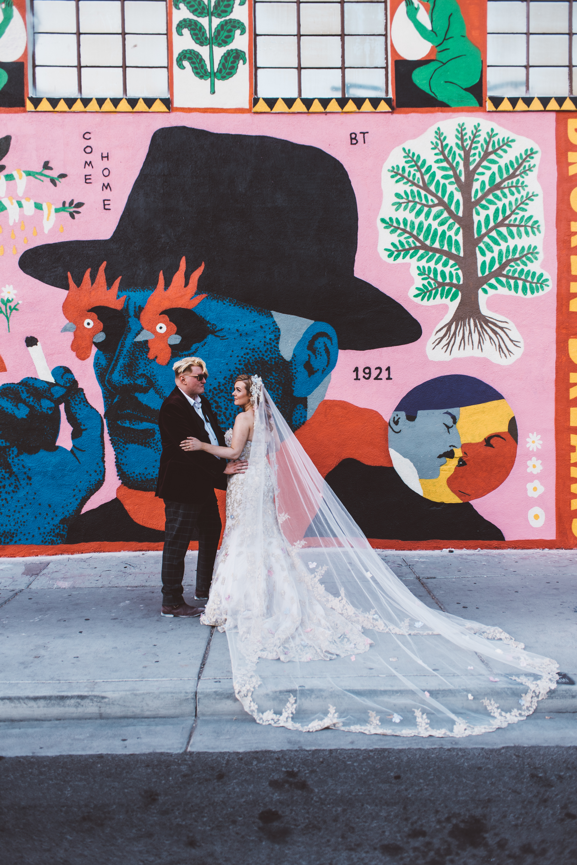 Neon Museum Elopement Elvis Elopement Las Vegas Photography by Ashley Marie-277.jpg