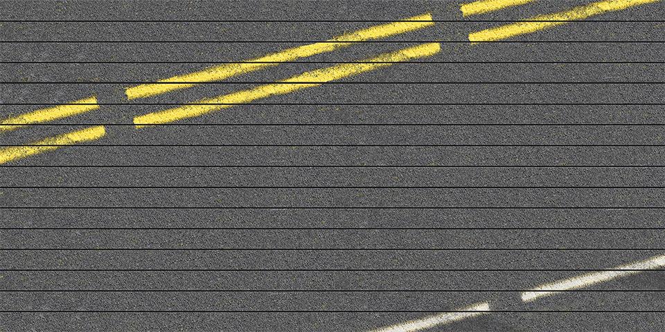 Roadway 8'x16' wall layout