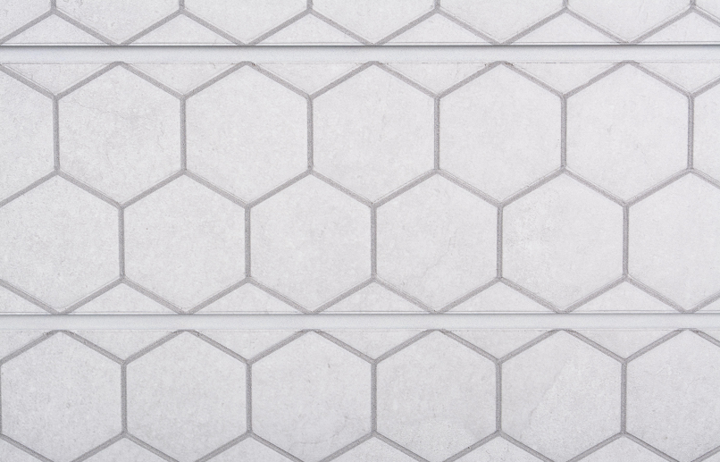 Honeycomb Light Grey