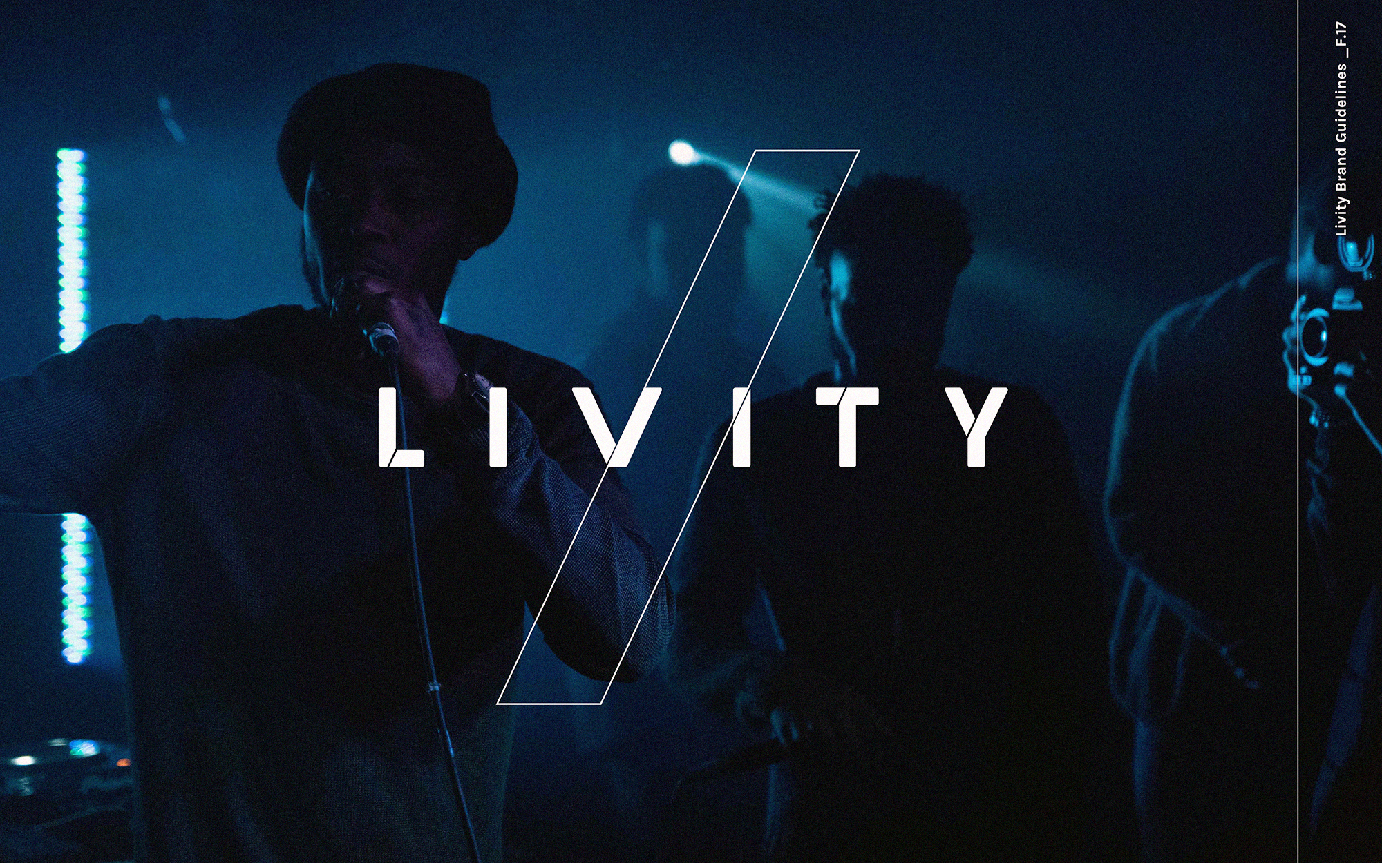 >  Below, insight into the design process of Livity's noisy but truthful identity, with extracts from the Brand Guidelines that we created, direction on typography, colour, texture, photography, illustration amongst others.