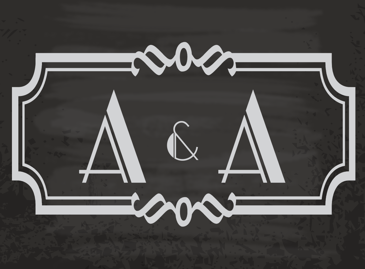 Ari & Avidan, 2018 - Wedding Monogram
