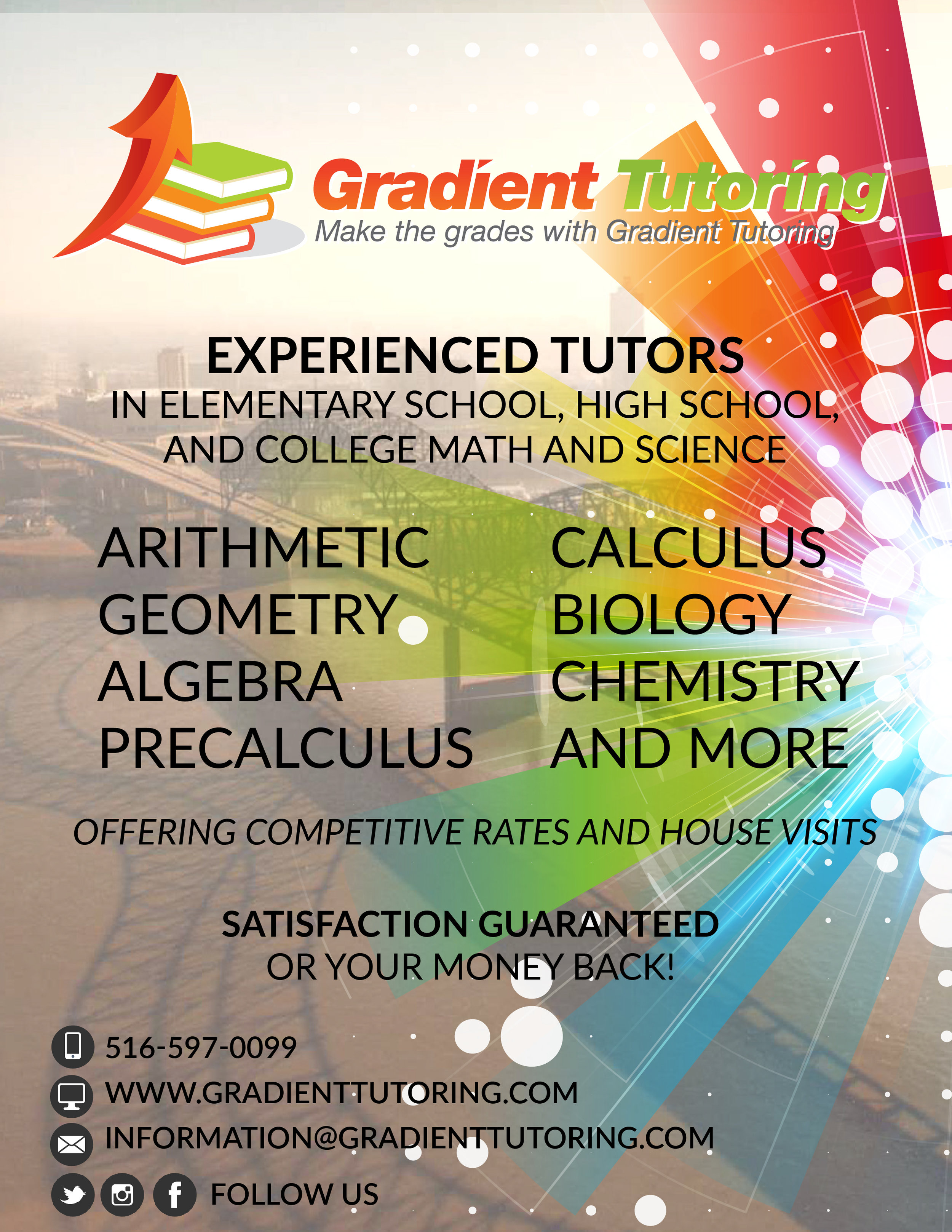 Gradient Tutoring - Tutoring Poster
