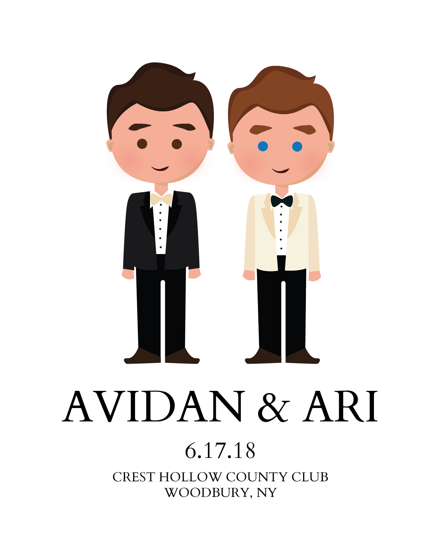 Avidan & Ari - Wedding Save the Date