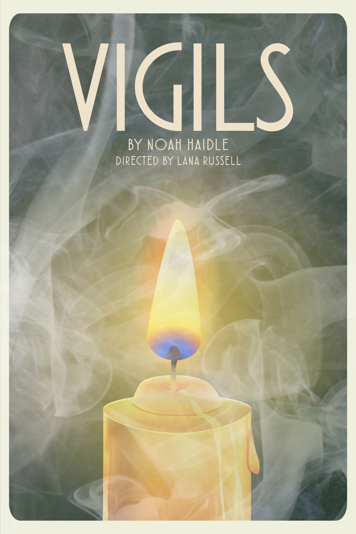 Vigils - Theatre Poster, New School Drama