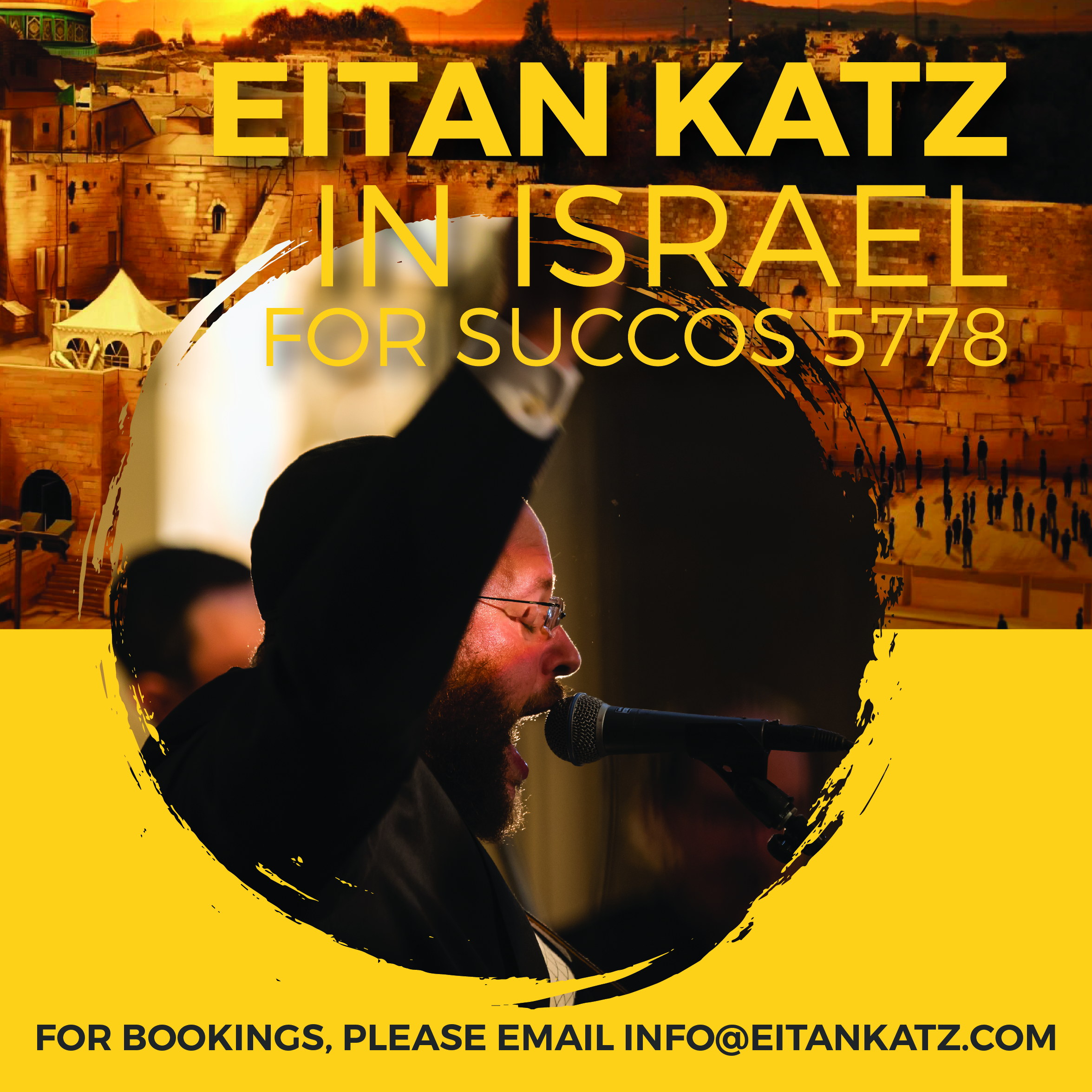 Eitan Katz In Israel - Social Media Post, Eitan Katz