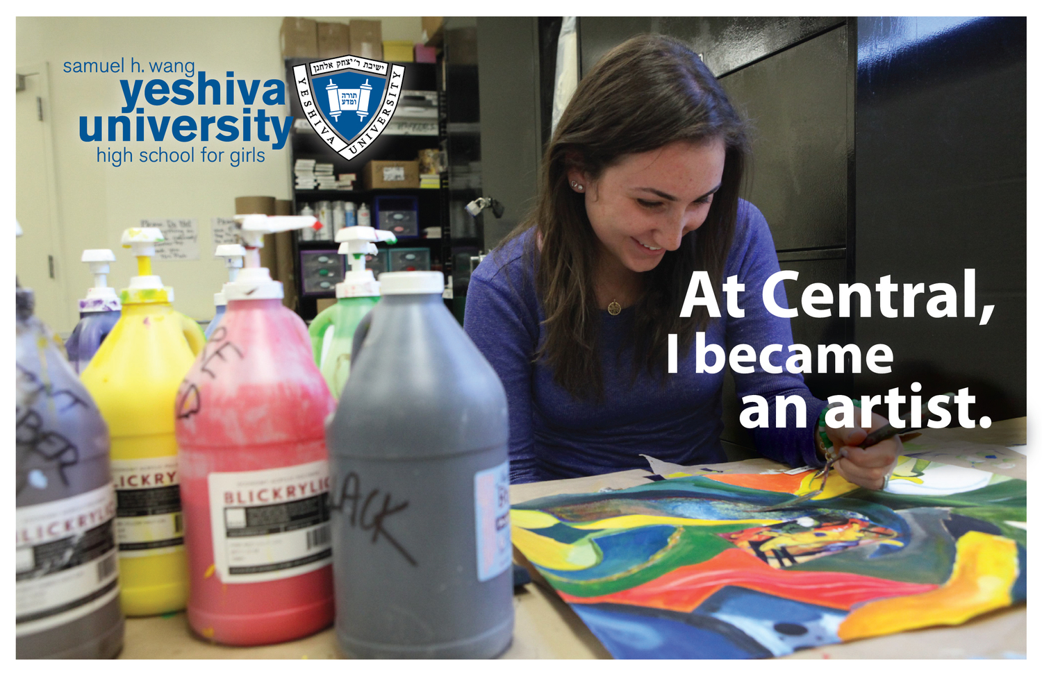 At Central, I… - Postcard Campaign, Yeshiva University High School for Girls