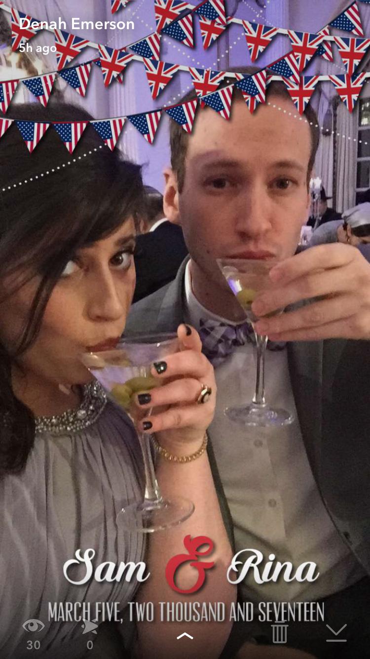 Sam & Rina - Snapchat Geofilter