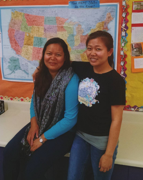 Narann Hour, pictured on right, just accomplished a huge achievement - she has completed her  #GED  ! What's next? Narann has college plans and is headed for much more  #success  . Her sister, Nareth Hour, is taking the last portion of the test this week and is just one step away from receiving her  #GED  credential.