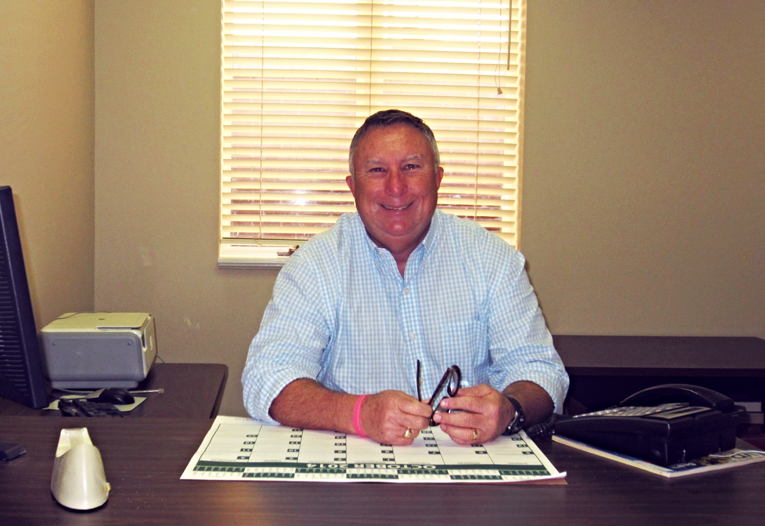 Joe Bonnett,  Properties Manager